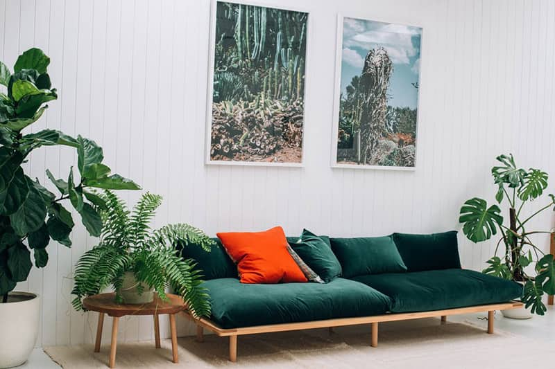 15 Beautiful Dark Green Sofas | Apartment Therapy