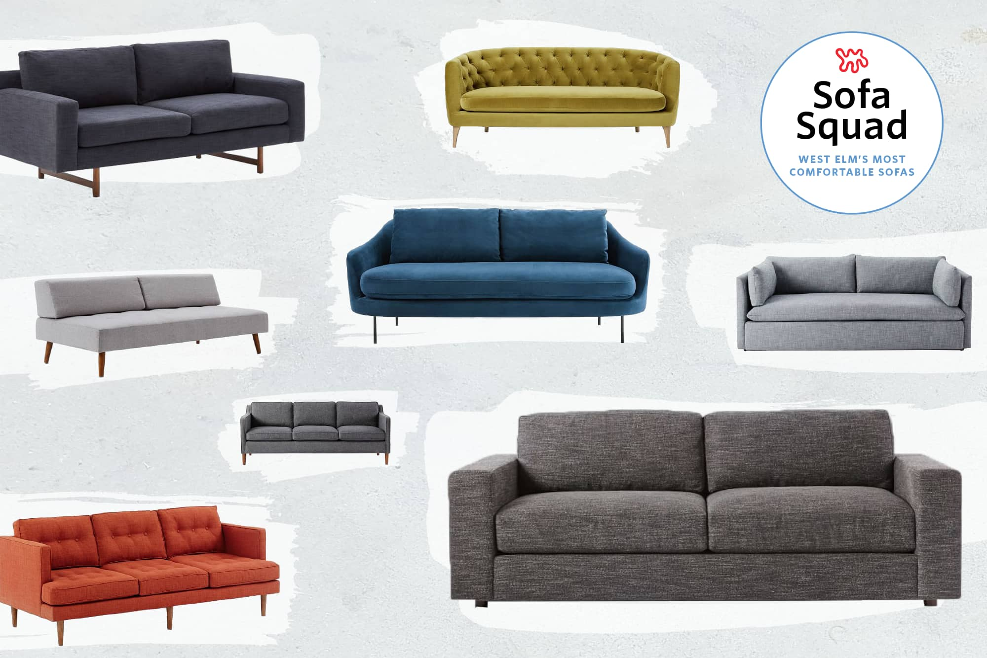 Reviewed The Most Comfortable Sofas At West Elm Apartment Therapy