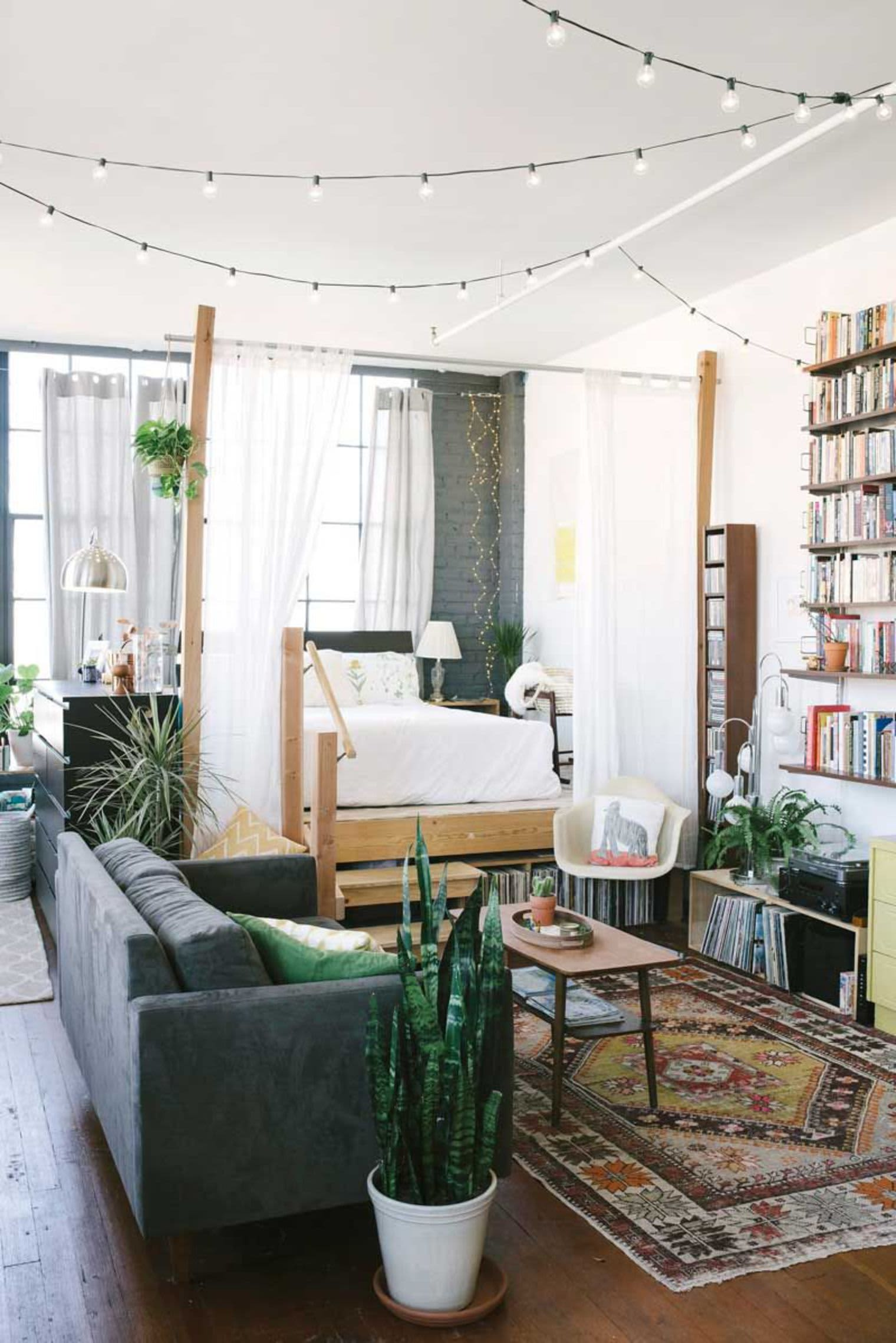 bedroom virtual designer rec room decorating ideas virtual apartment decorating Privacy, Please: Ideas for Carving Out a Cozy Bedroom in a Studio