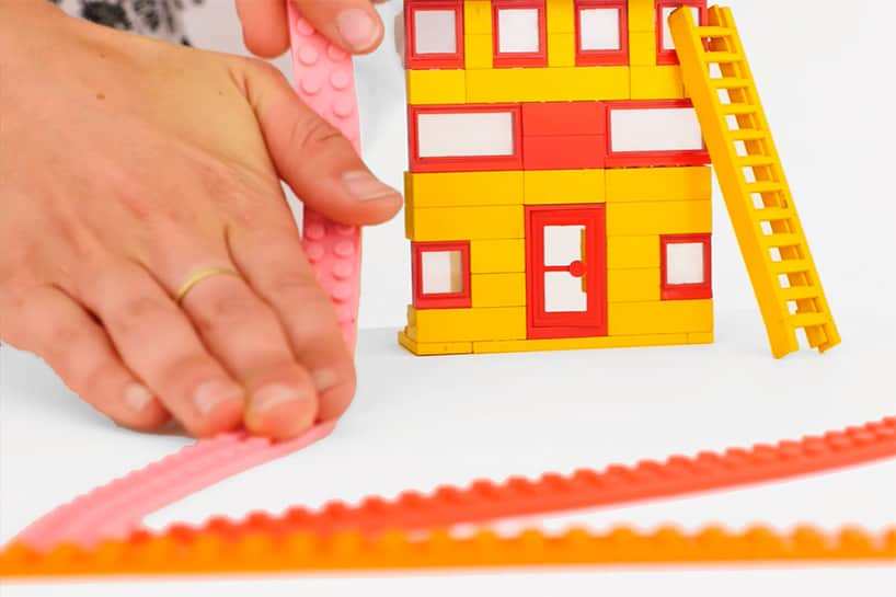 This Tape Turns Any Surface Into A Lego Building Base Apartment