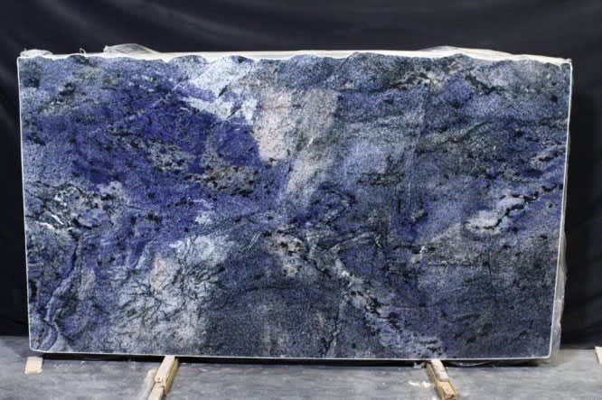 Considering Blue Bahia Granite Let These Interiors Sway