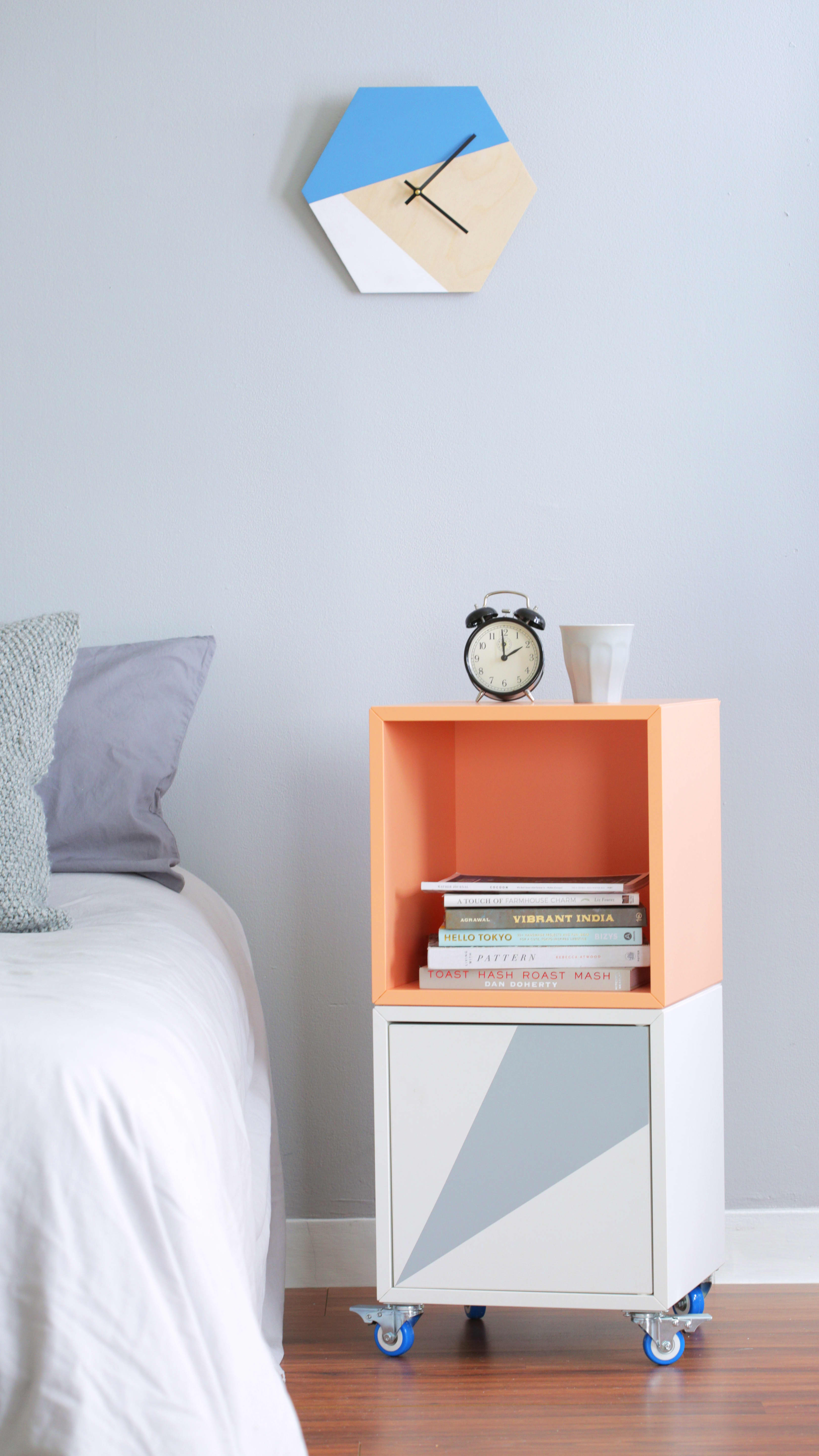 How to Turn the IKEA EKET into a Rolling Bar Cart or ...