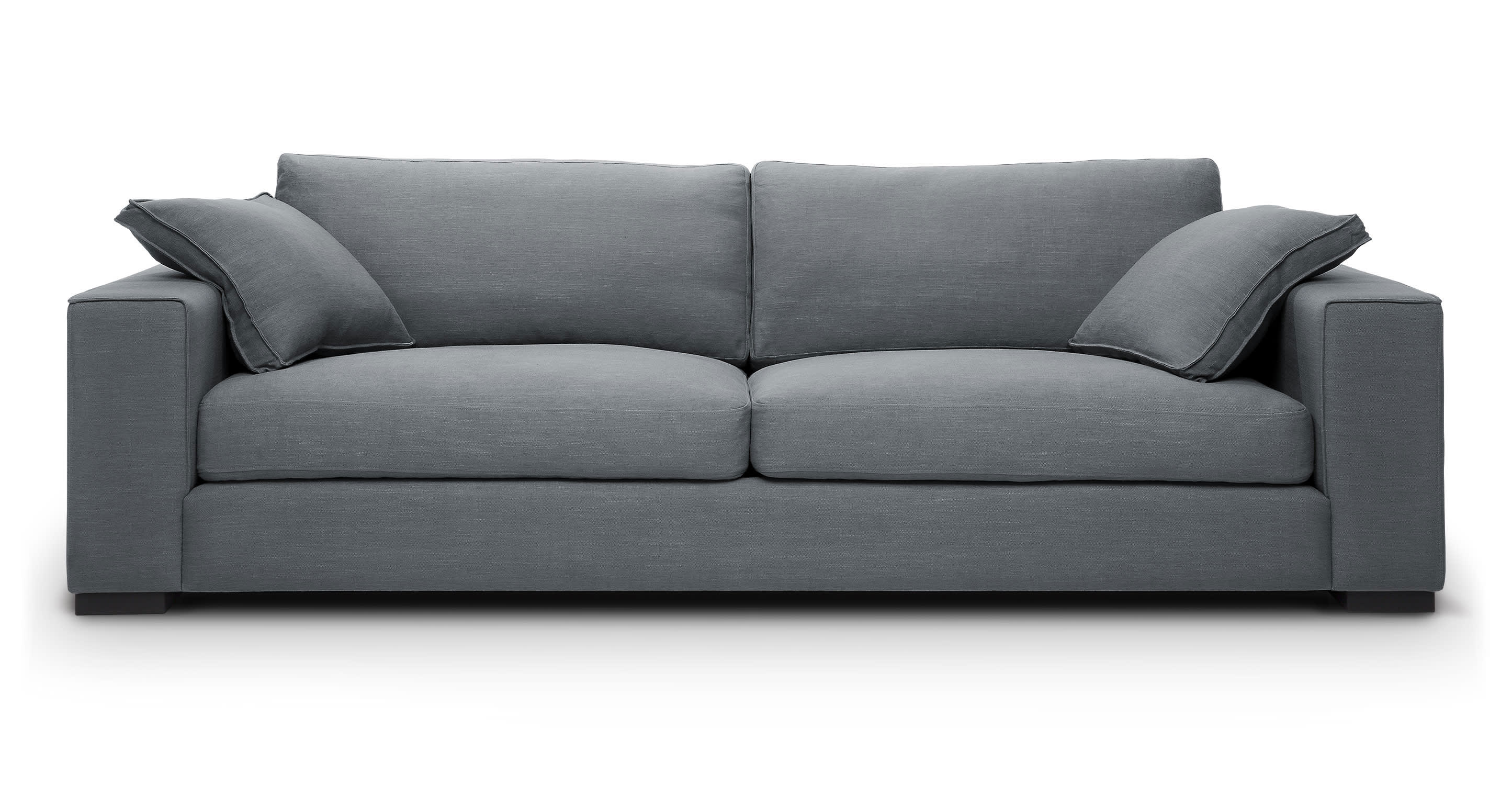 we saw, we sat, we reviewed the most fortable sofas at