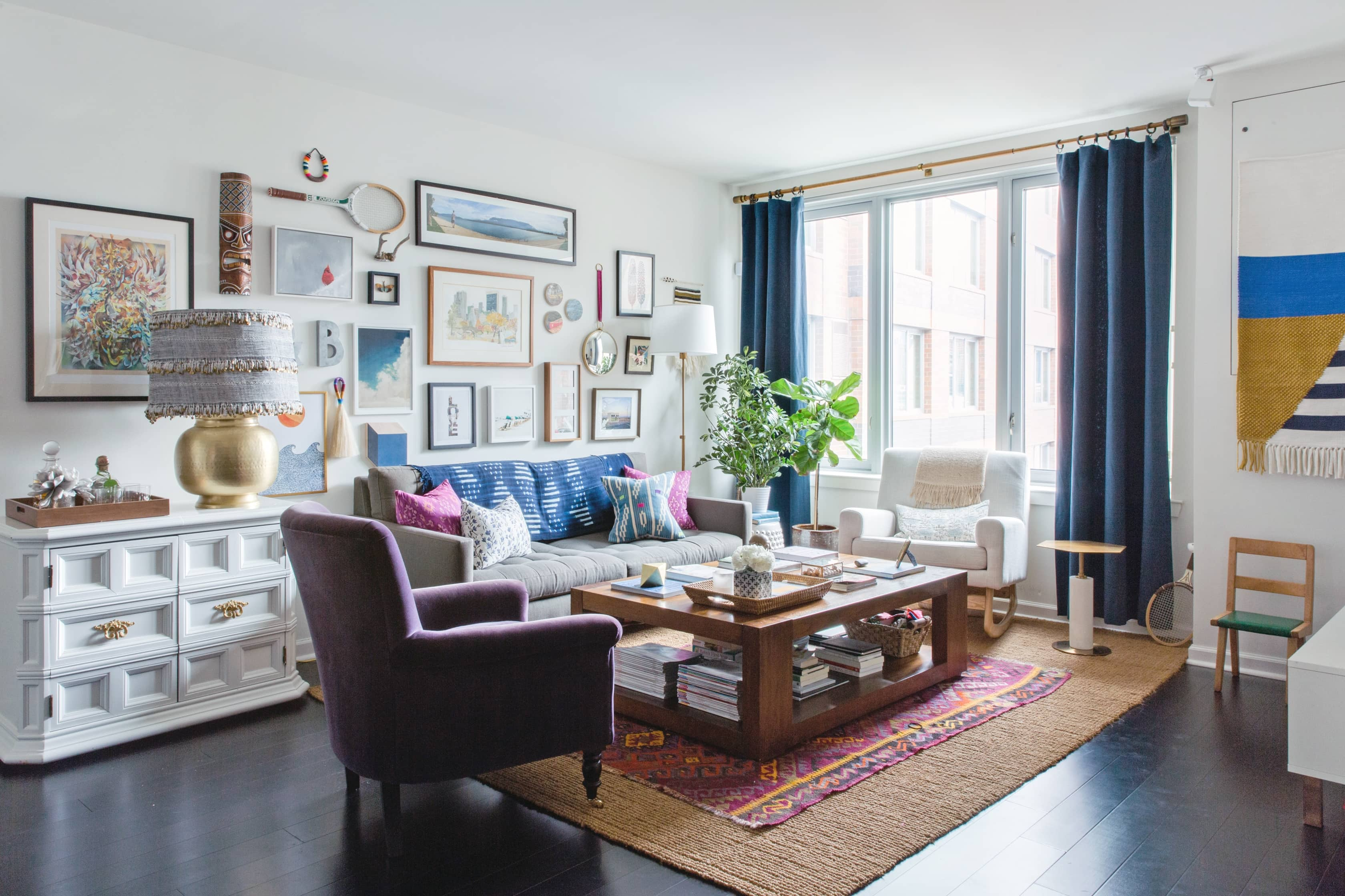 Tour: A Designer\'s Eclectic Modern West New York Apartment ...