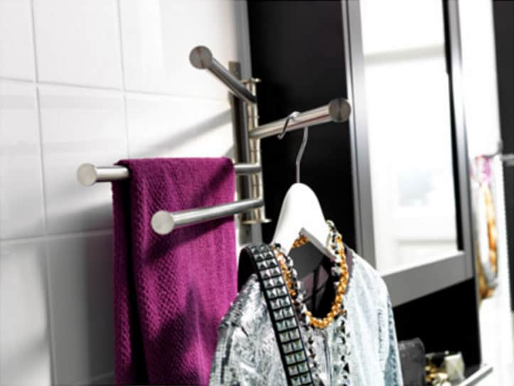Ideas For Hanging Amp Storing Towels In A Small Bathroom