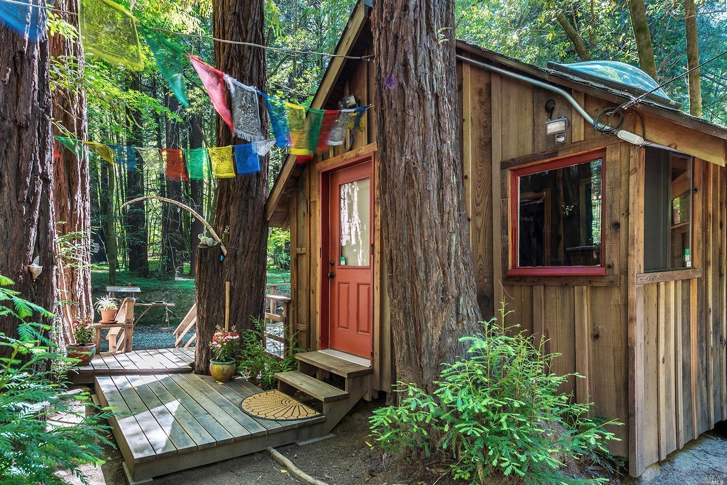 Sonoma Tiny House With Pirate Treehouse Listed For 300k Apartment