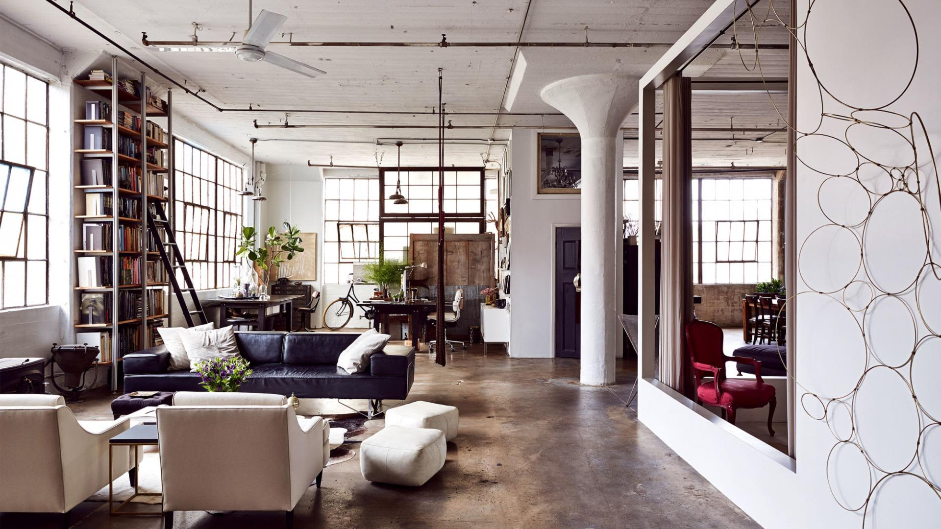 extraordinary new york loft living room | 5 Beautiful New York Lofts to Dream About | Apartment Therapy
