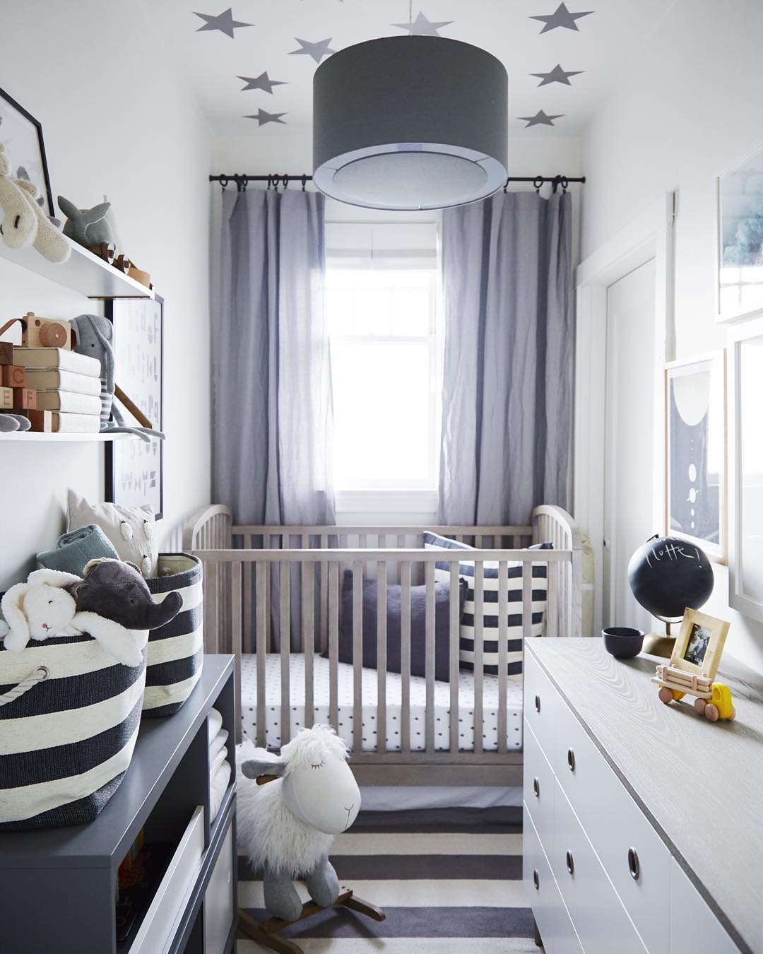Baby Nurseries For Small Rooms (Image credit: Crystal Palecek)