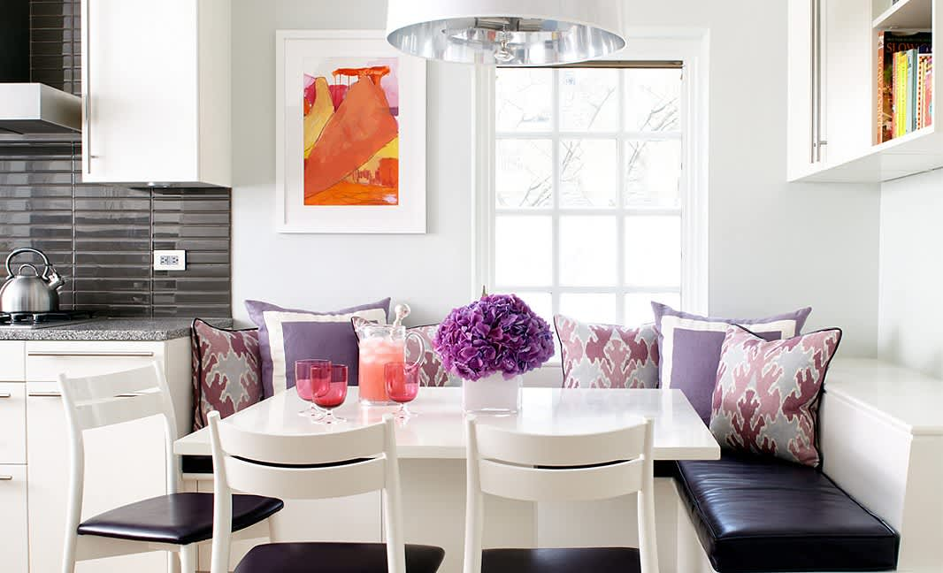 Decorating Ideas 6 Colors To Pair With Purple At Home Apartment