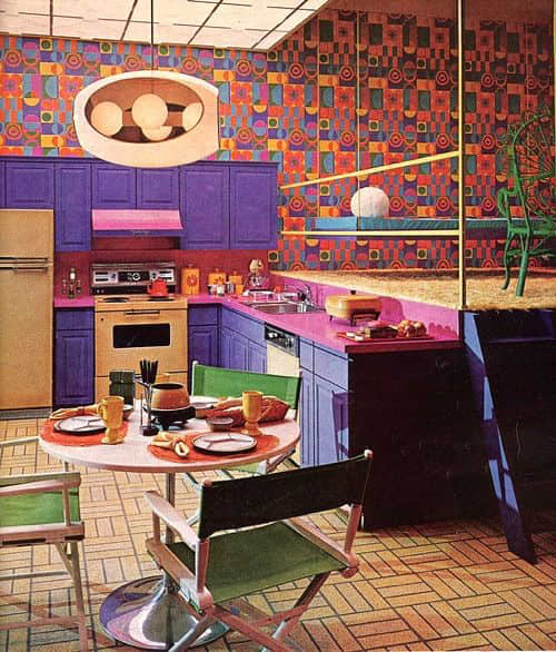 A Brief History Of 1970s Kitchen Design