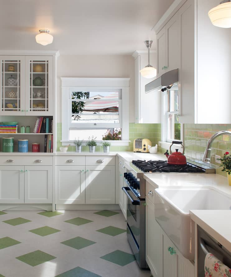 Kitchen Flooring Apartment Therapy: It's Official: This Overlooked Budget Flooring Looks Great
