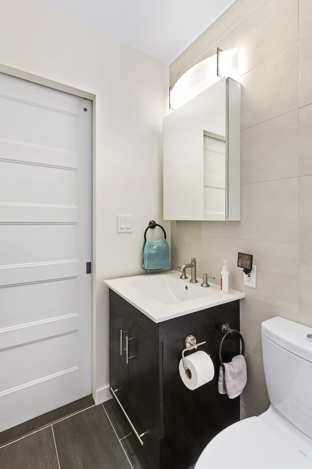 A Bathroom Remodel in a Small NYC Apartment | Apartment ... on Small Apartment Bathroom  id=19784