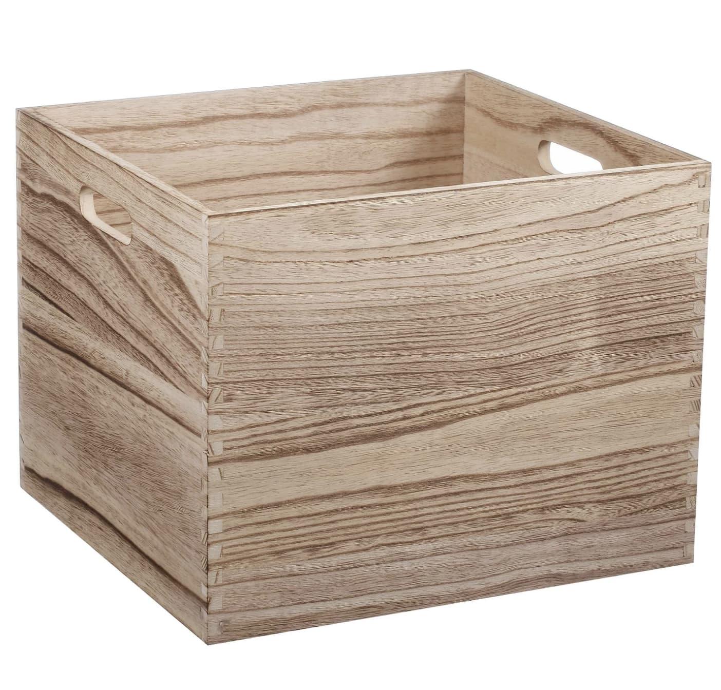 Where To Buy Storage Cubes For An Ikea Kallax Bookshelf
