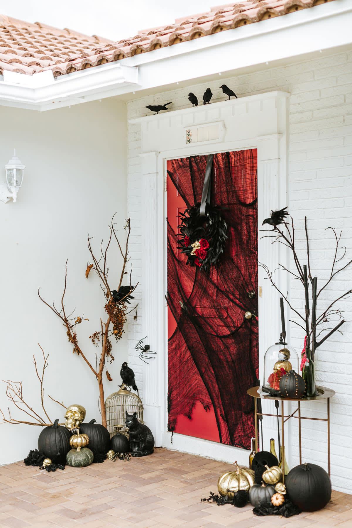 Halloween Decorating Ideas For Your Front Door Apartment