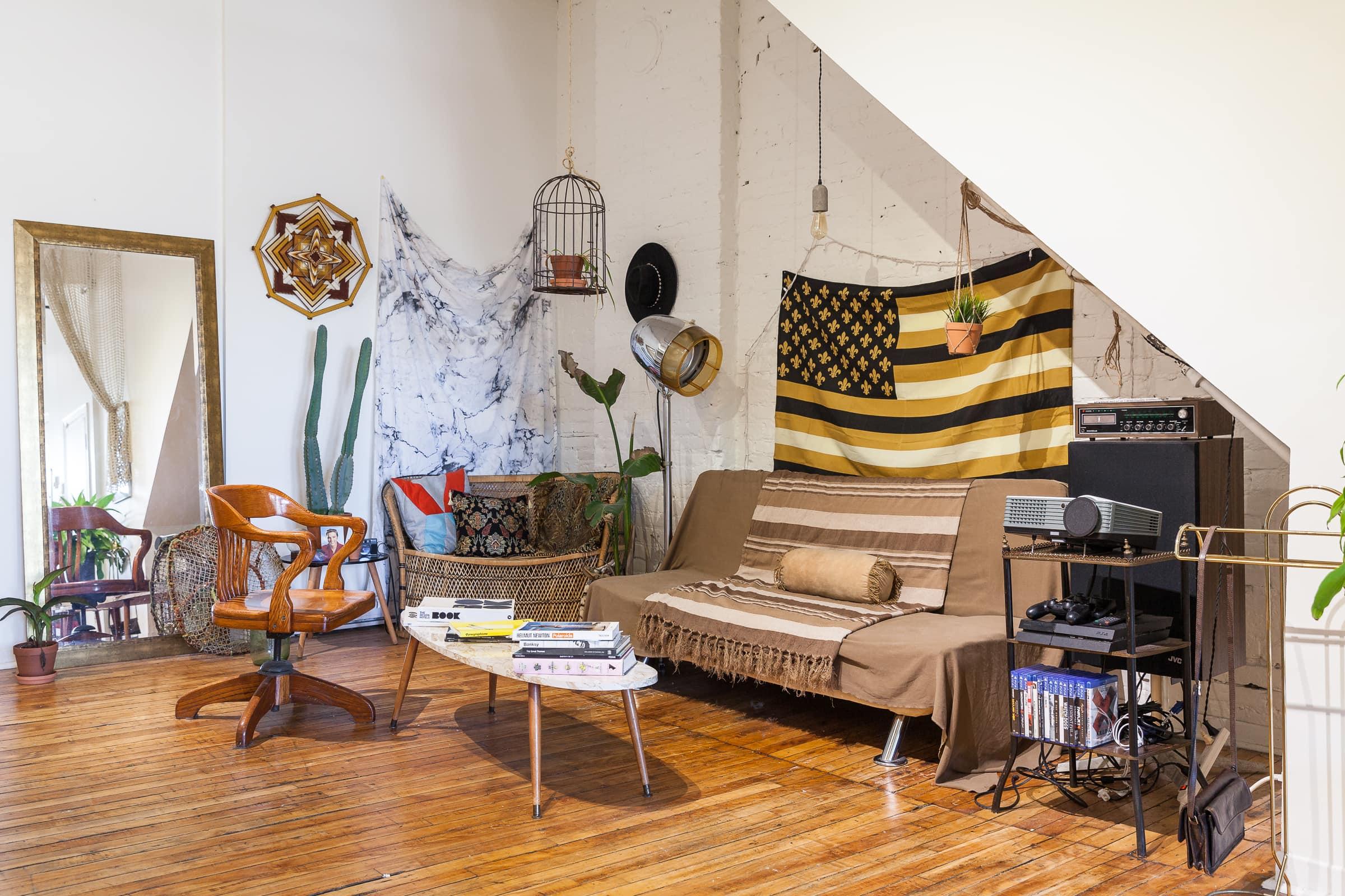 House Tour: A Bohemian Montreal Loft | Apartment Therapy