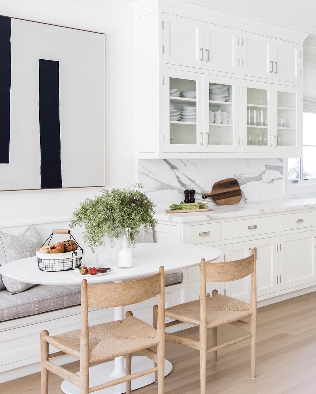 Built In Bench Seating: Banquette Built-In Benches Add Smart Kitchen Seating