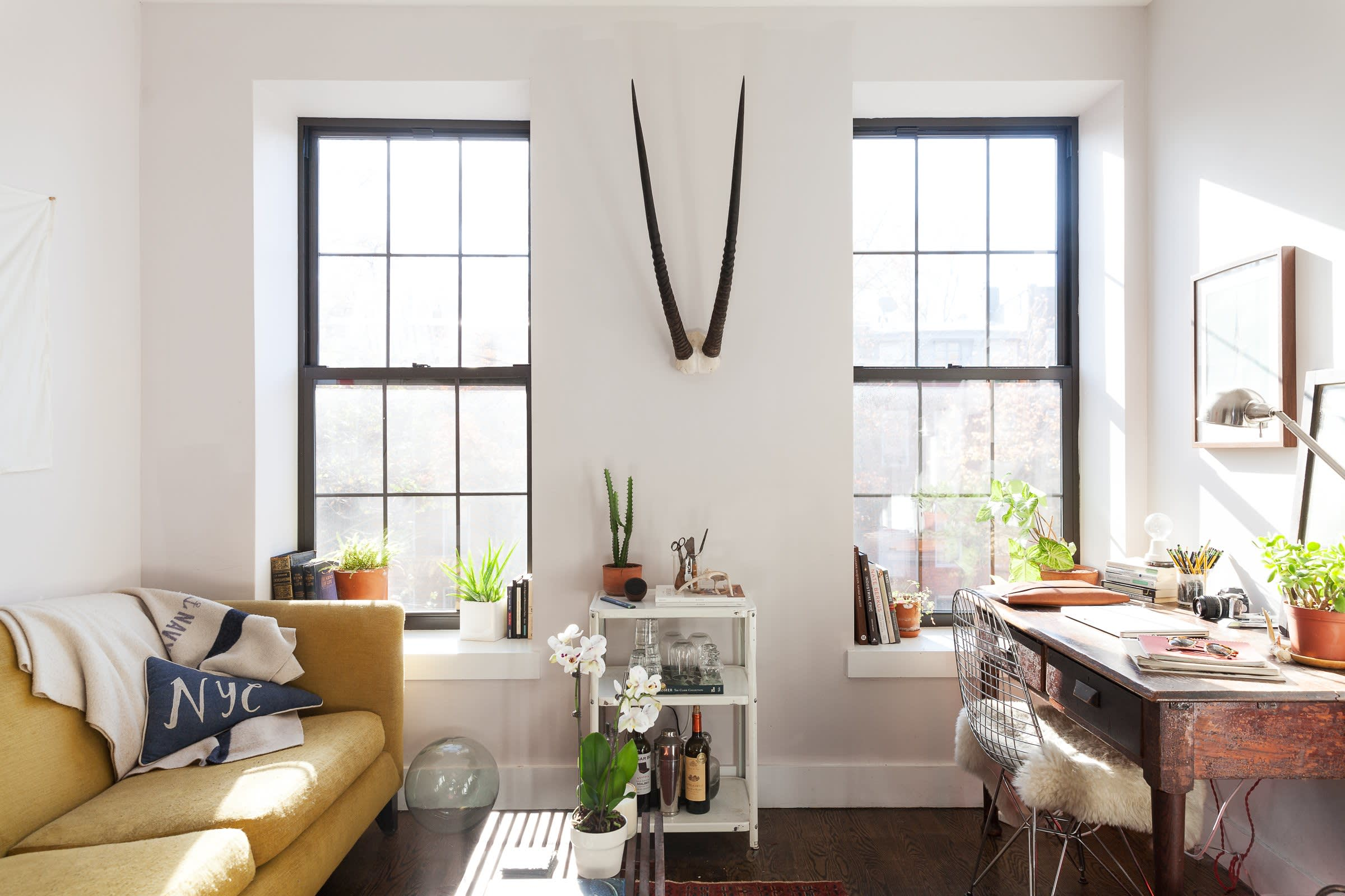 An Industrial Modern Apartment In Brooklyn (Image Credit: Lauren Kolyn)