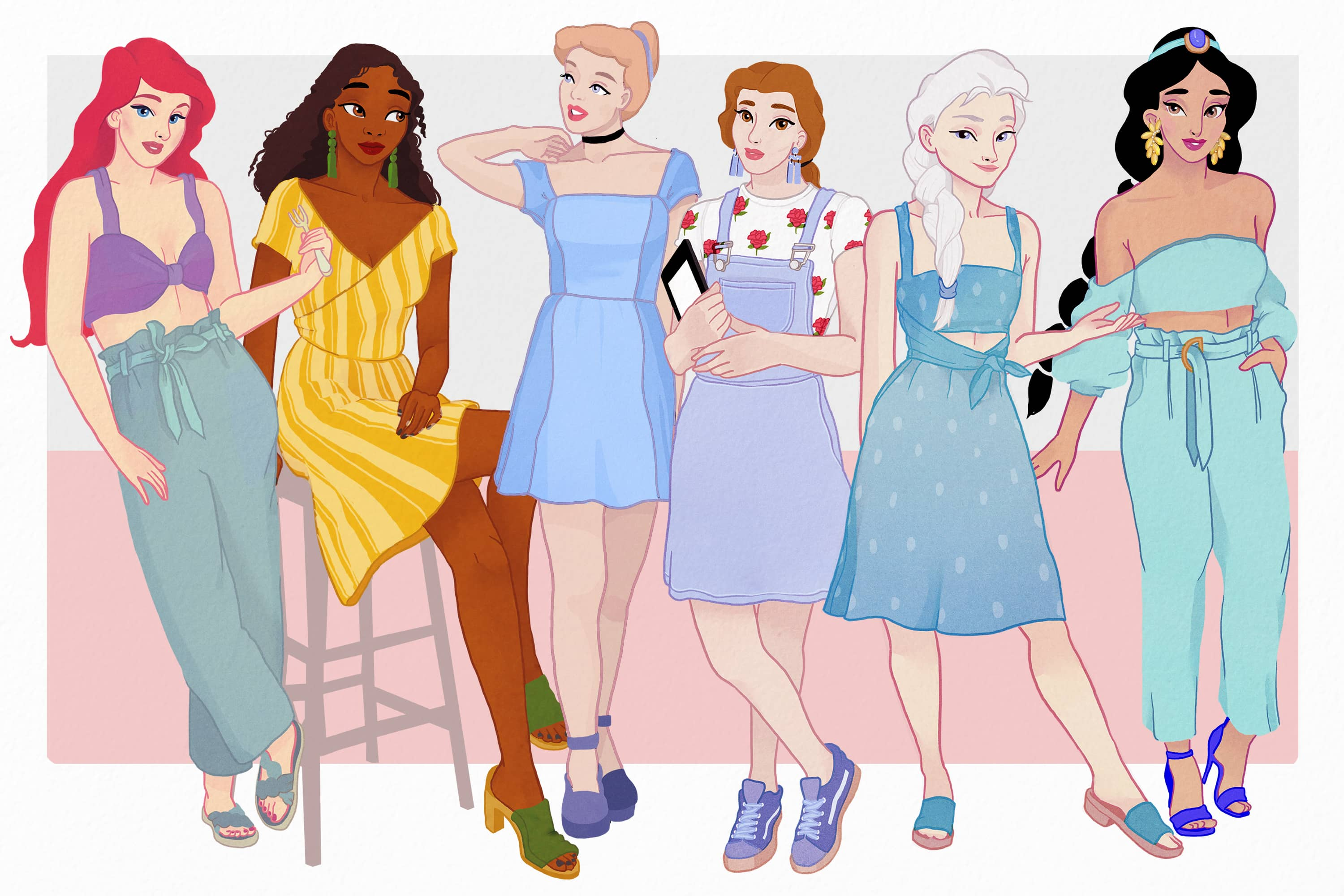 af4da3e24d6 Disney Princesses Downsize Into Tiny Houses