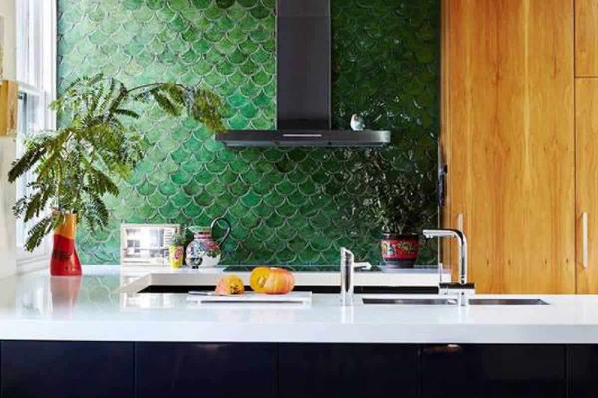 Charmant 69 Stunning Kitchen Backsplashes Youu0026#8217;ll Want To Pin For Later: Gallery
