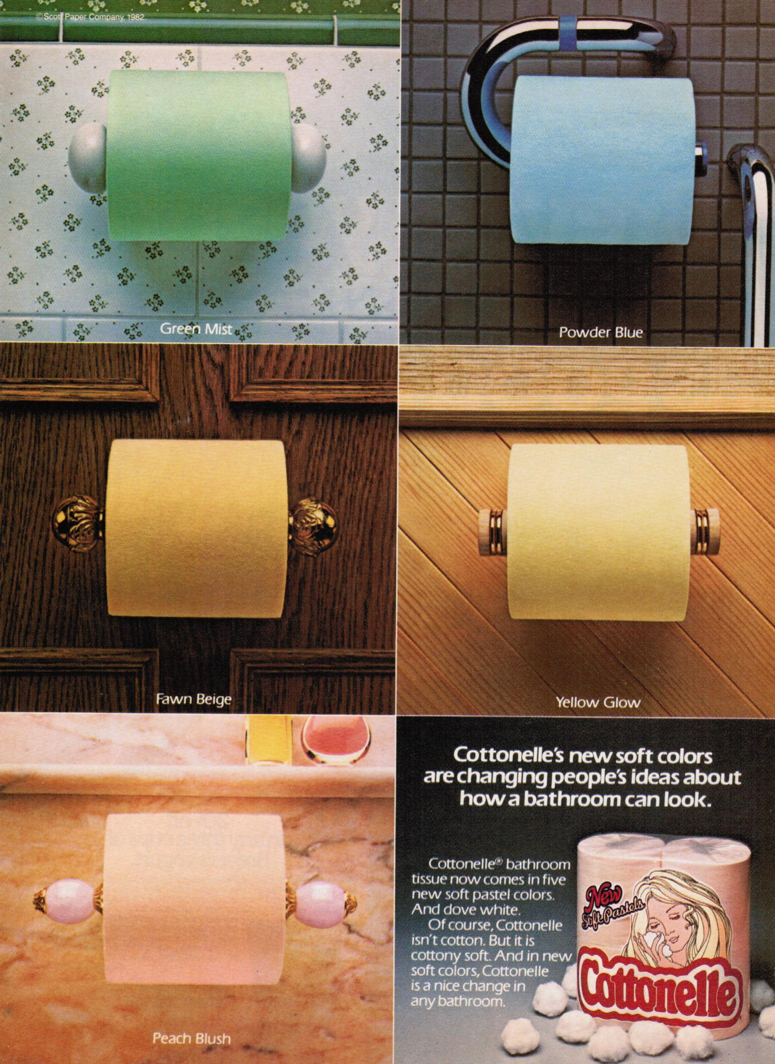 What Ever Happened to Colored Toilet Paper? | Apartment ...