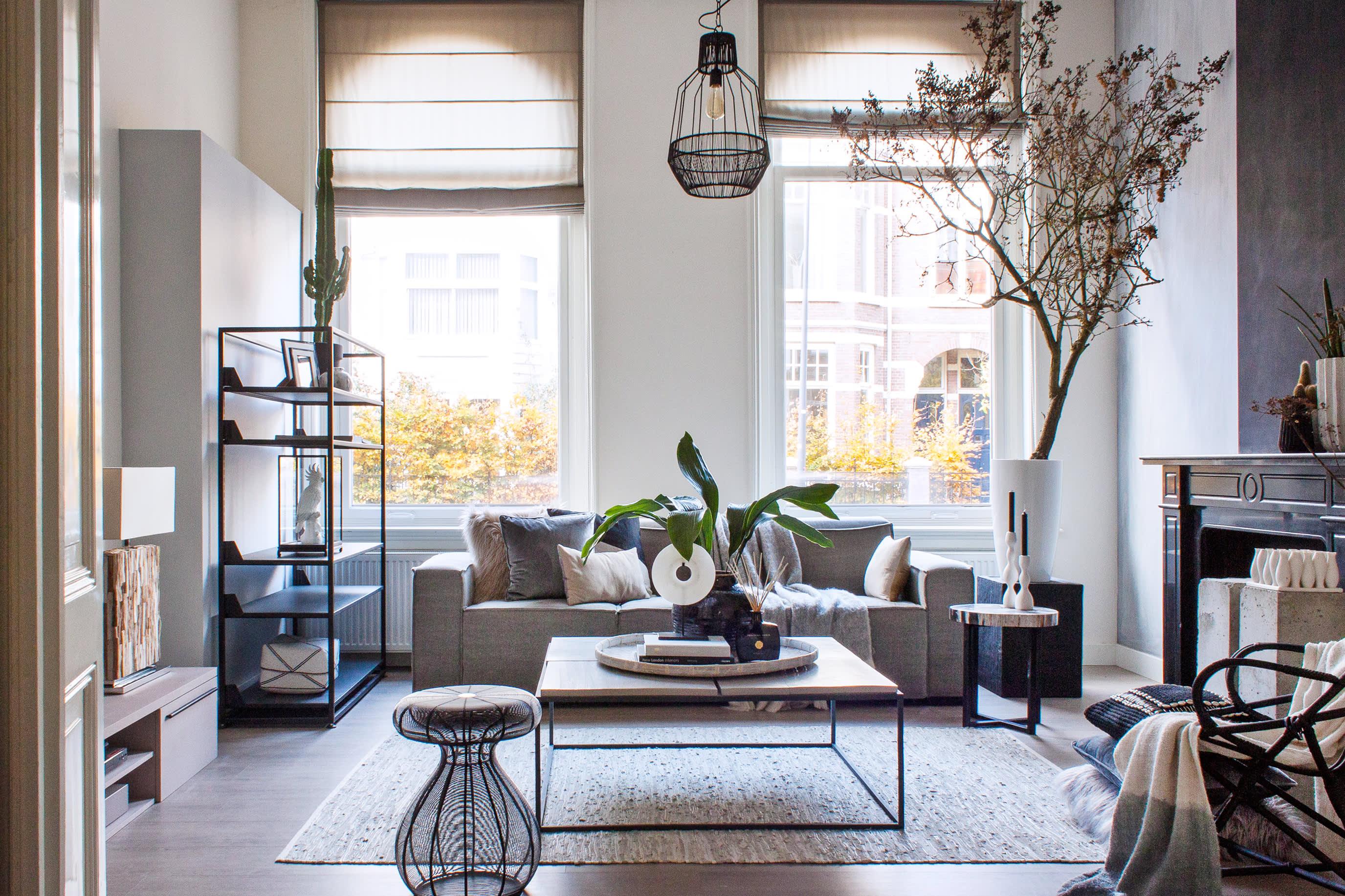 House Tour Klaas Hogeweg S Black White Dutch Home Apartment Therapy