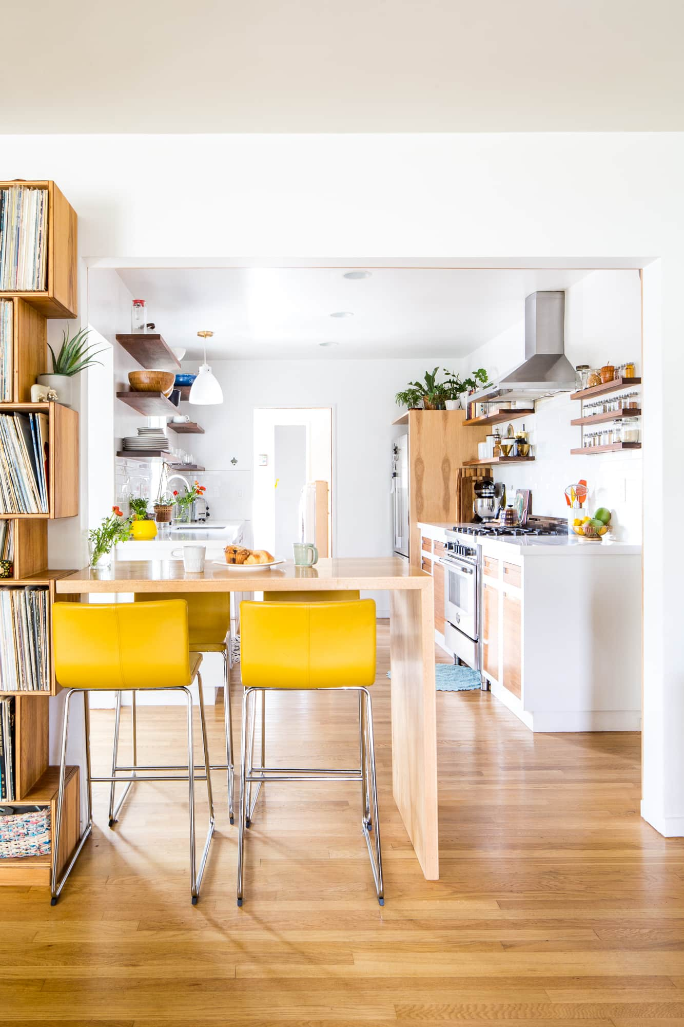 A Cheery Minimal California Home Full Of Hand Built Woodwork