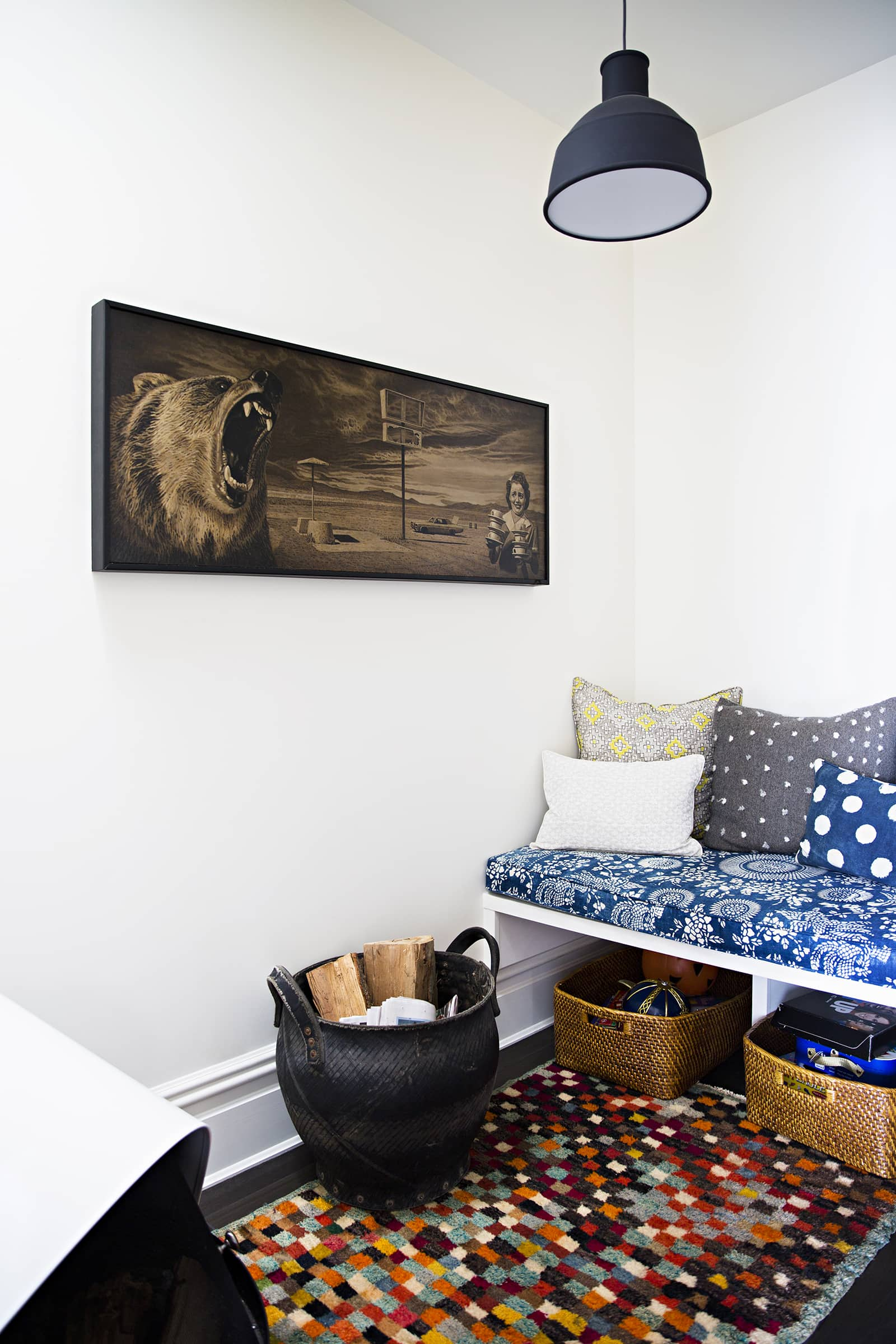The Wallpaper-Covered Brooklyn Home of Studio Four NYC's Founder Kate