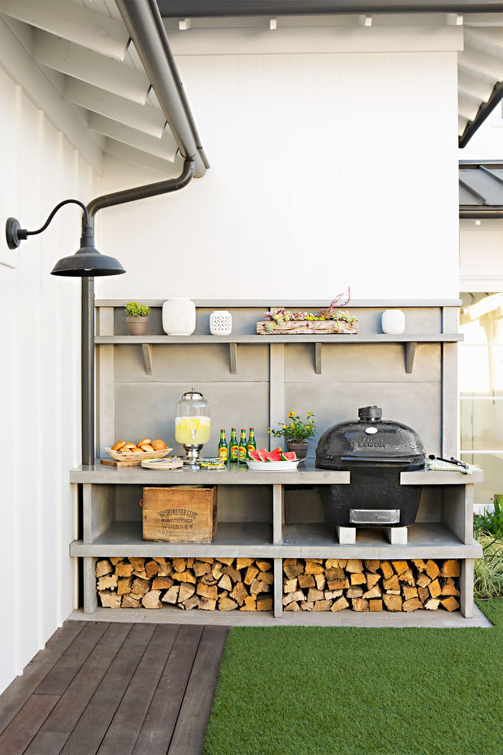 30 Outdoor Kitchen Ideas & Inspirations | Apartment Therapy on jamaican kitchen designs, 2013 best kitchen designs, candice olson kitchen designs, home kitchen designs, best gourmet kitchen designs, ultimate outdoor kitchen designs, 1920s kitchen designs, dream kitchen designs, ultimate kitchen layout,
