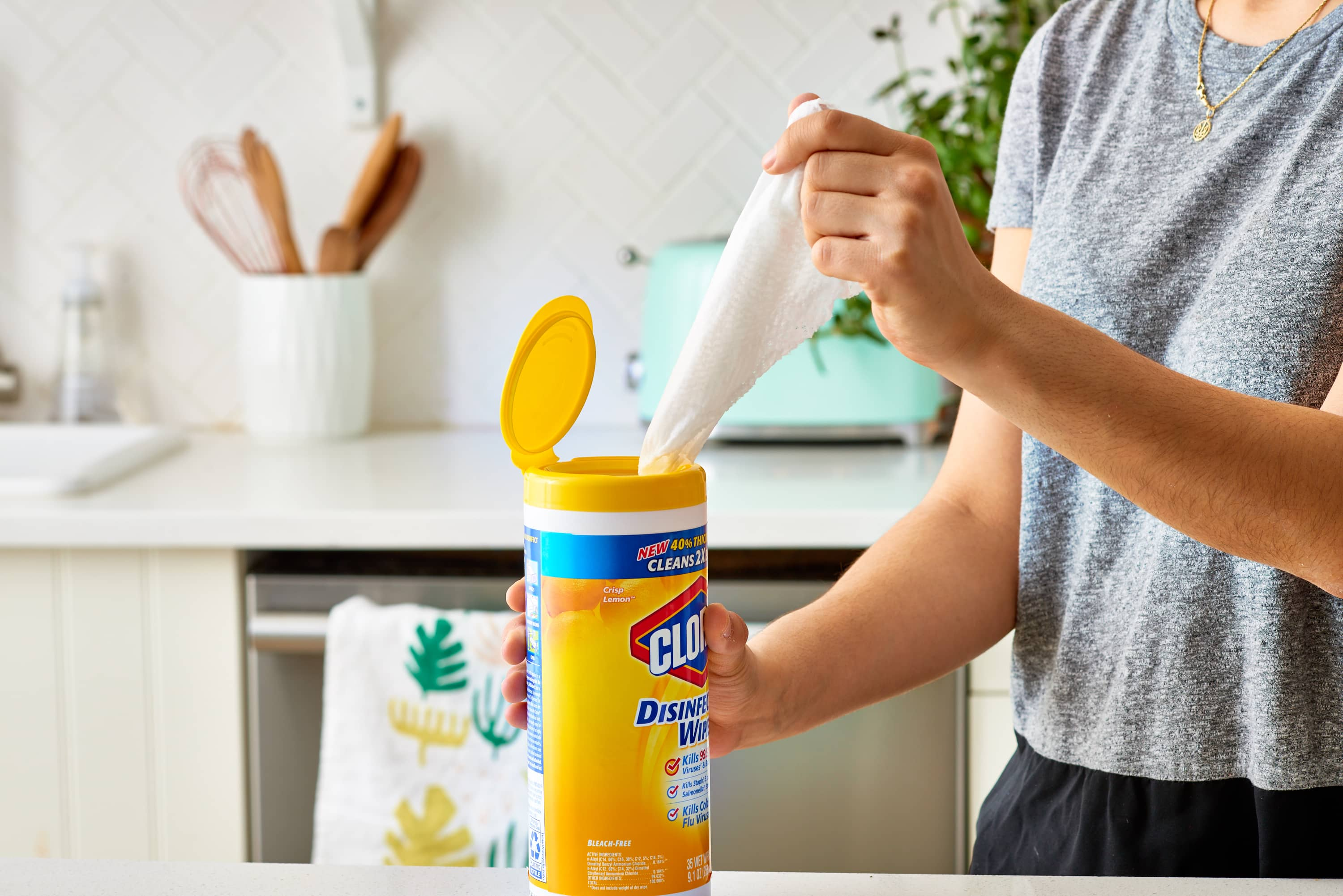 What Surfaces Can You Use Clorox Wipes On?