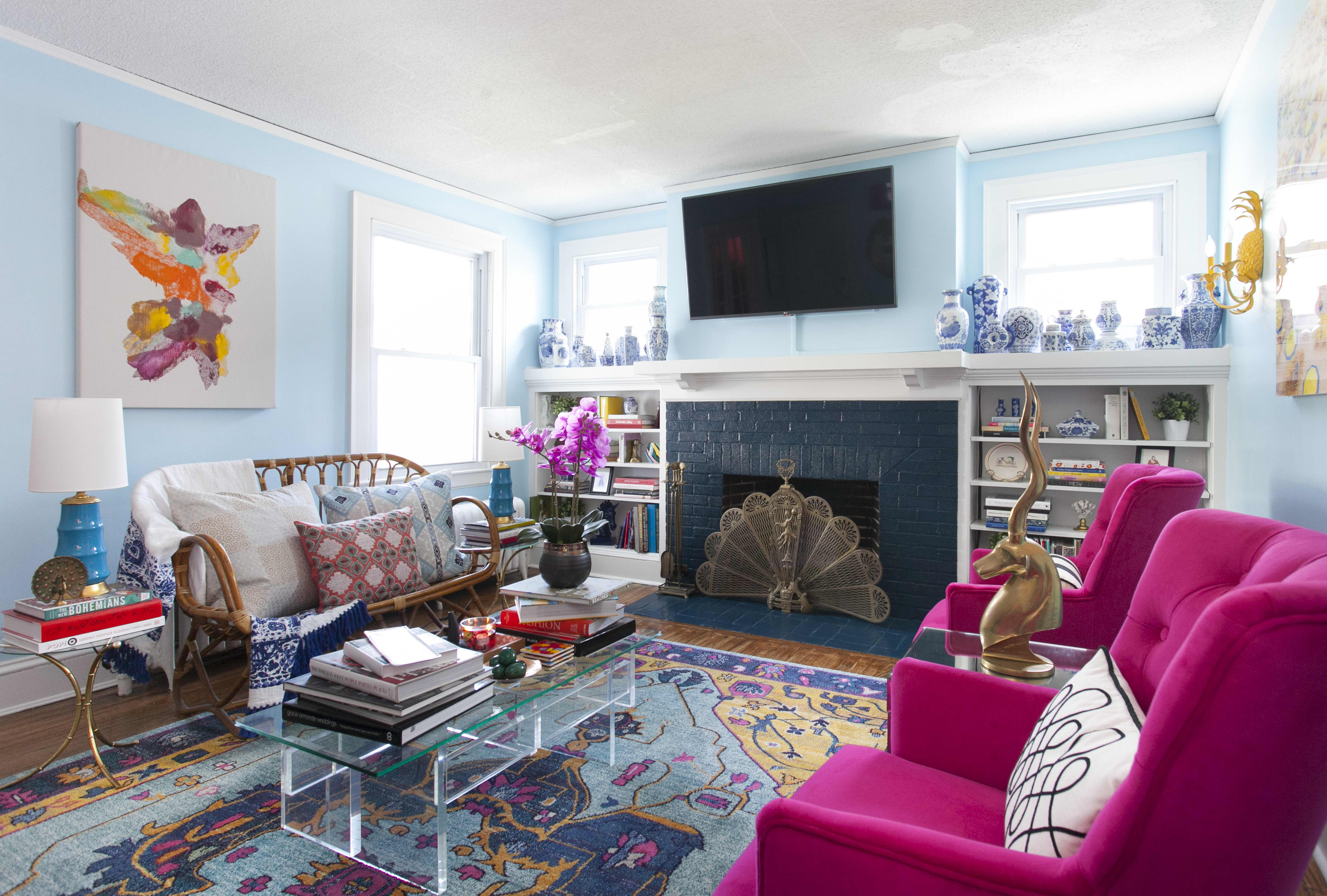 How To Decorate Your Home With Bright Cheery Colors