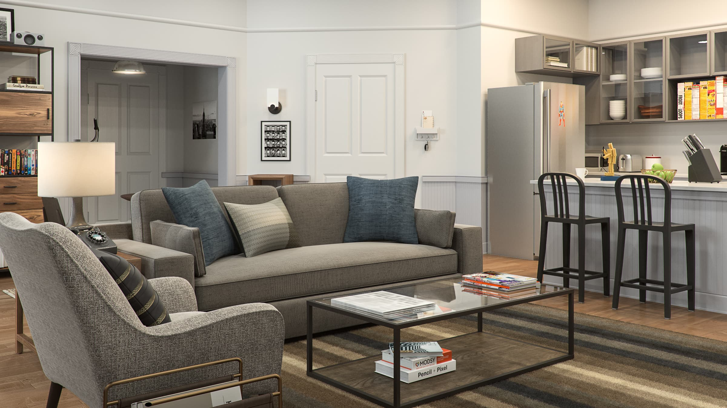 Heres what seinfelds apartment would look like in