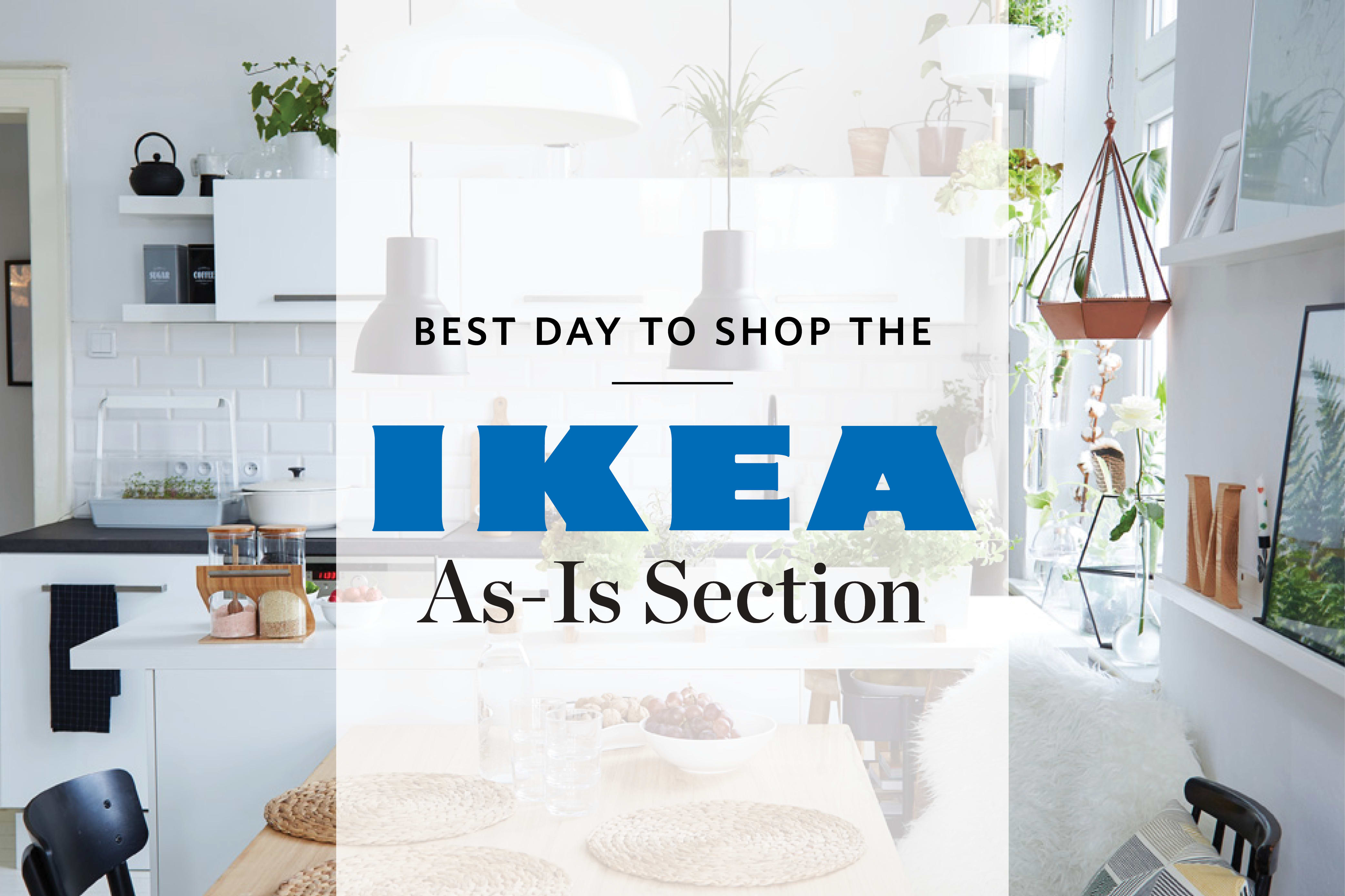 The Best Day To Shop Ikeas As Is Section Apartment Therapy
