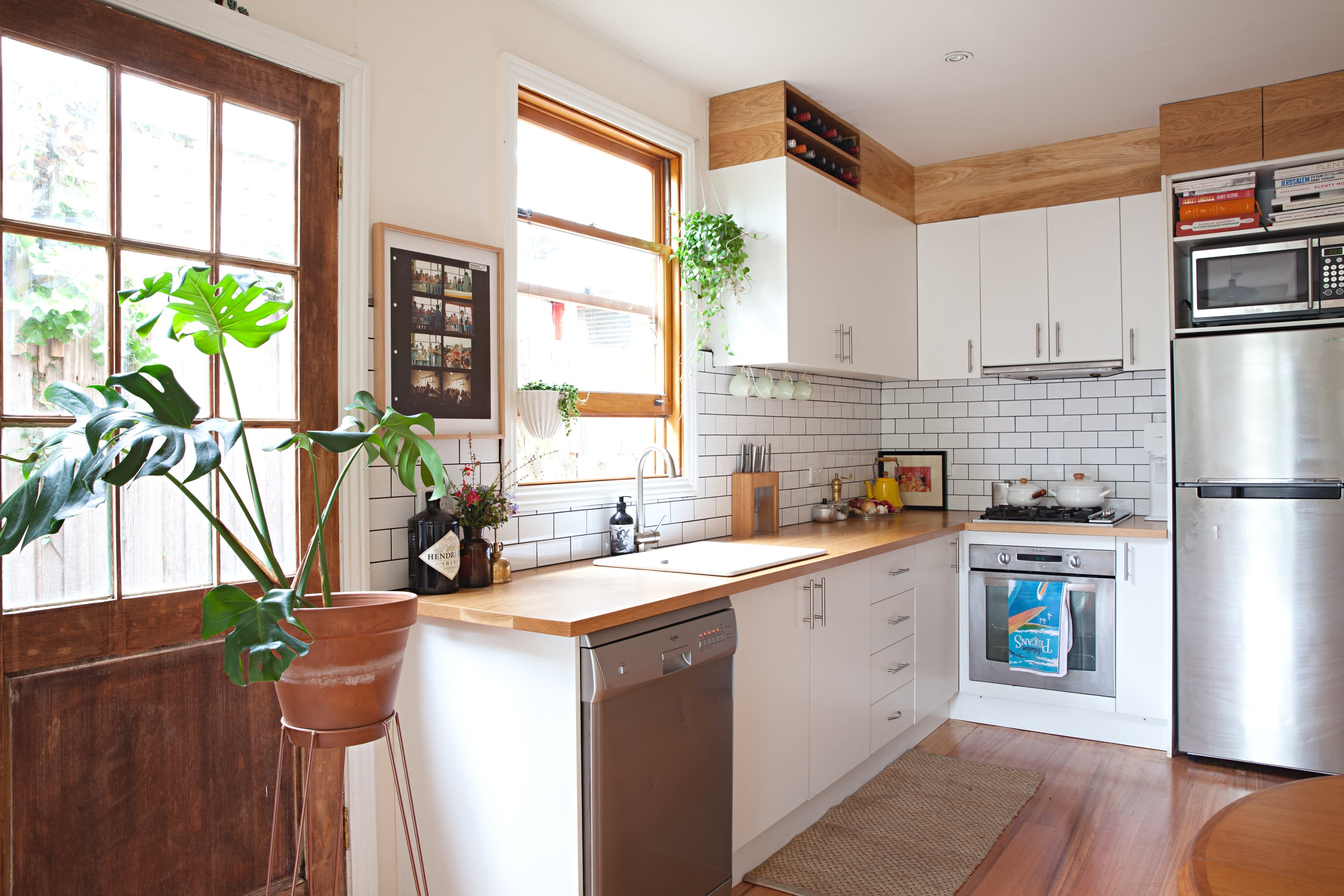 Kitchen Cabinet Soffit Space Ideas | Apartment Therapy