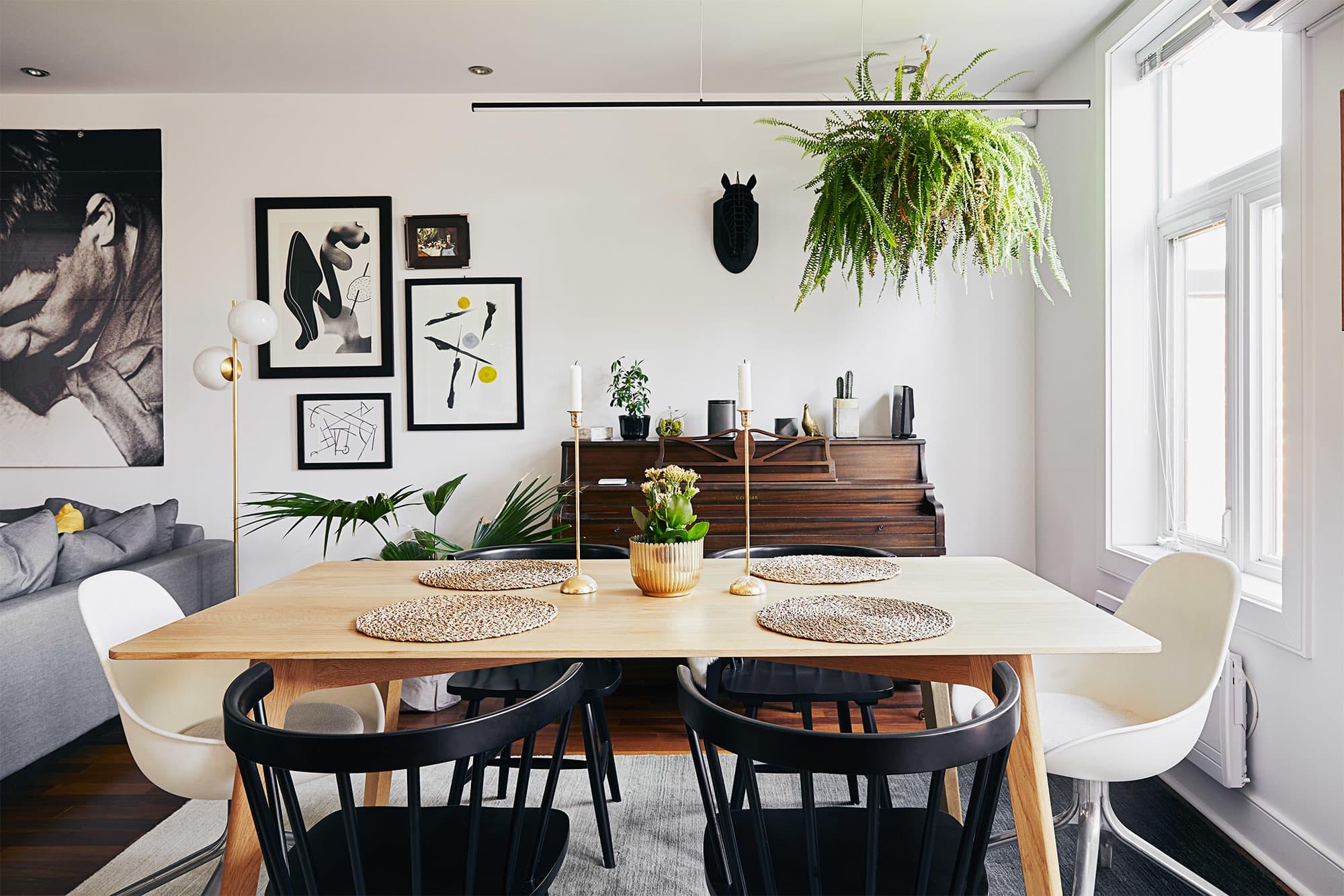 Minimal Modern Decor Ideas in a Montreal Apartment Tour | Apartment ...