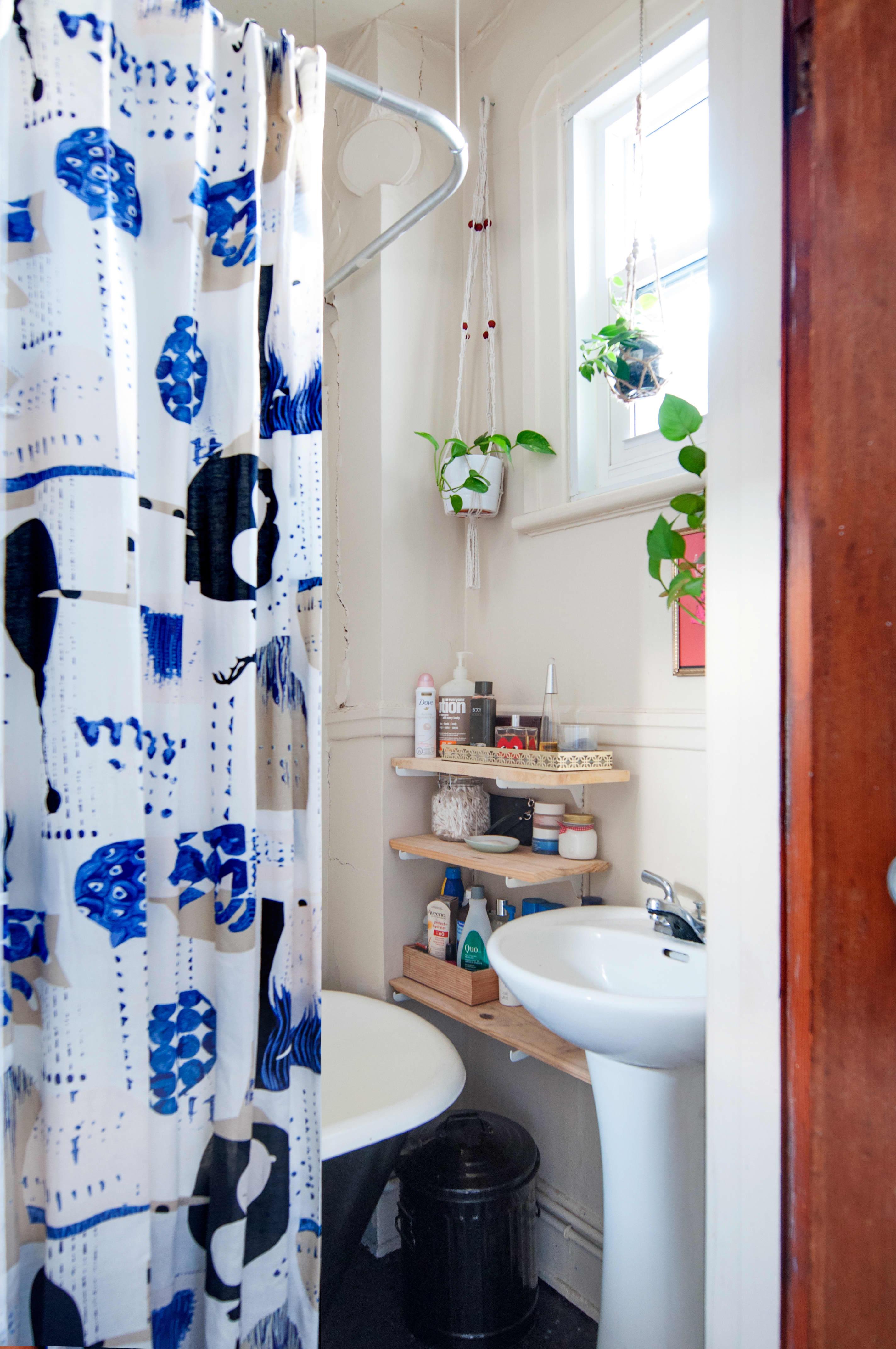 Small Bathroom Design & Storage Ideas | Apartment Therapy on Small Apartment Bathroom Storage Ideas  id=59992