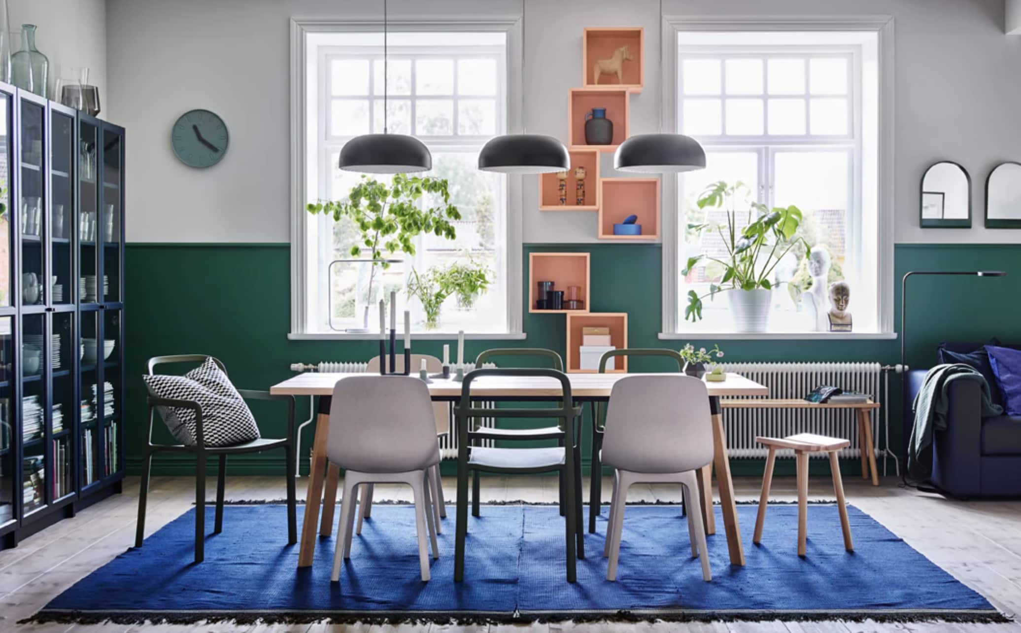8 Clever Dining Room Design Ideas Were Stealing From IKEA