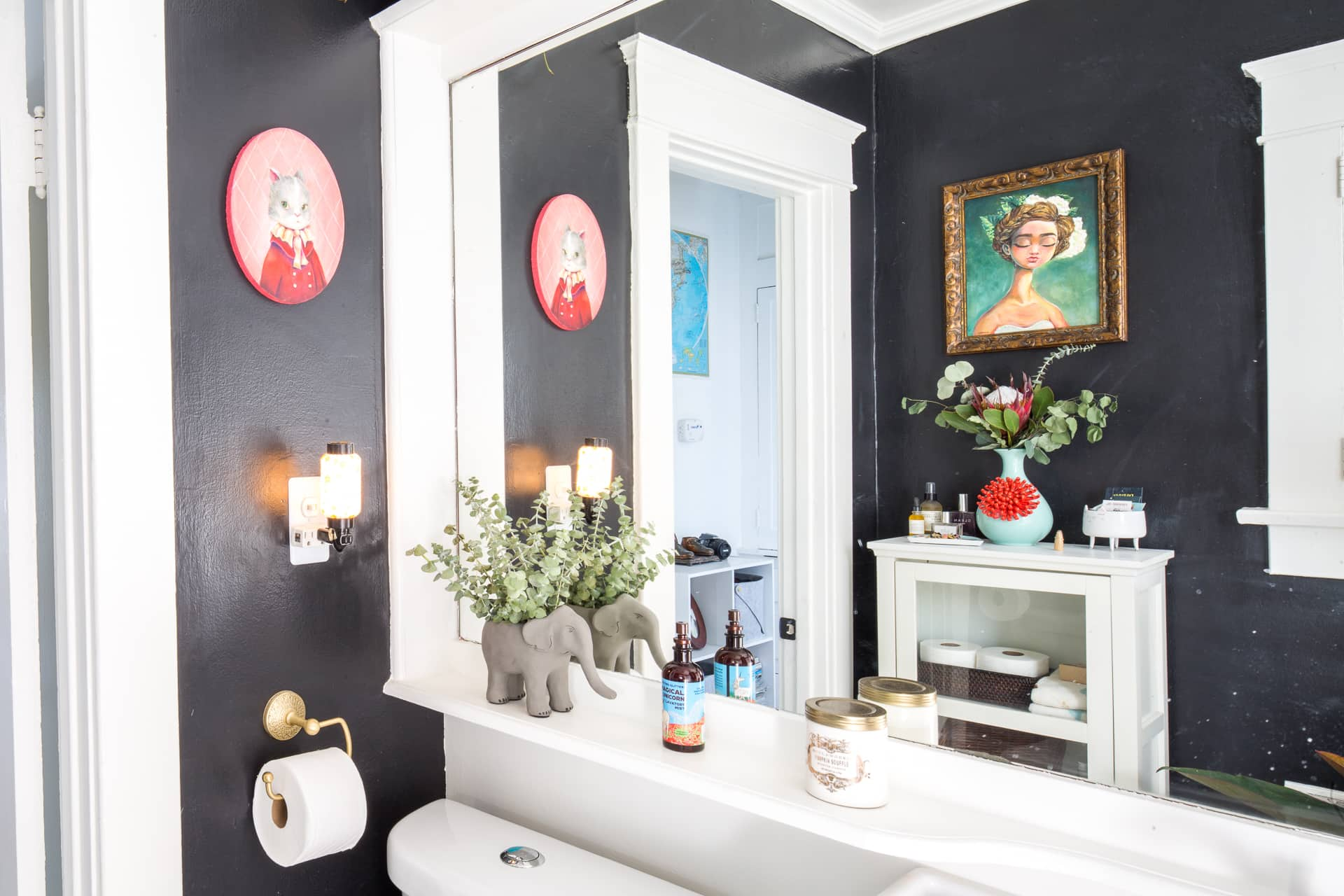 Small Bathroom Design & Storage Ideas | Apartment Therapy on Small Apartment Bathroom  id=29757