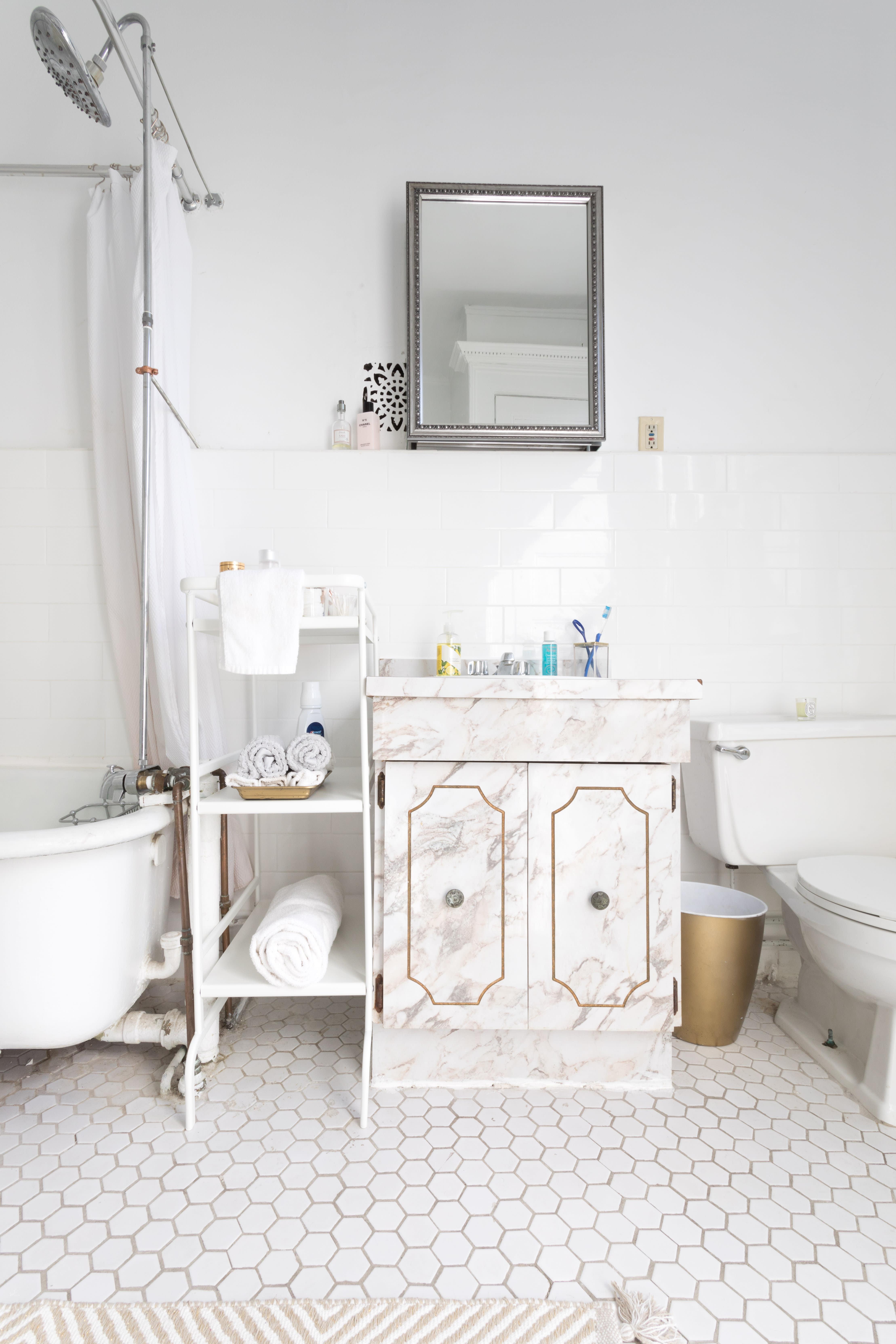 Small Bathroom Design & Storage Ideas | Apartment Therapy on Small Apartment Bathroom  id=79256