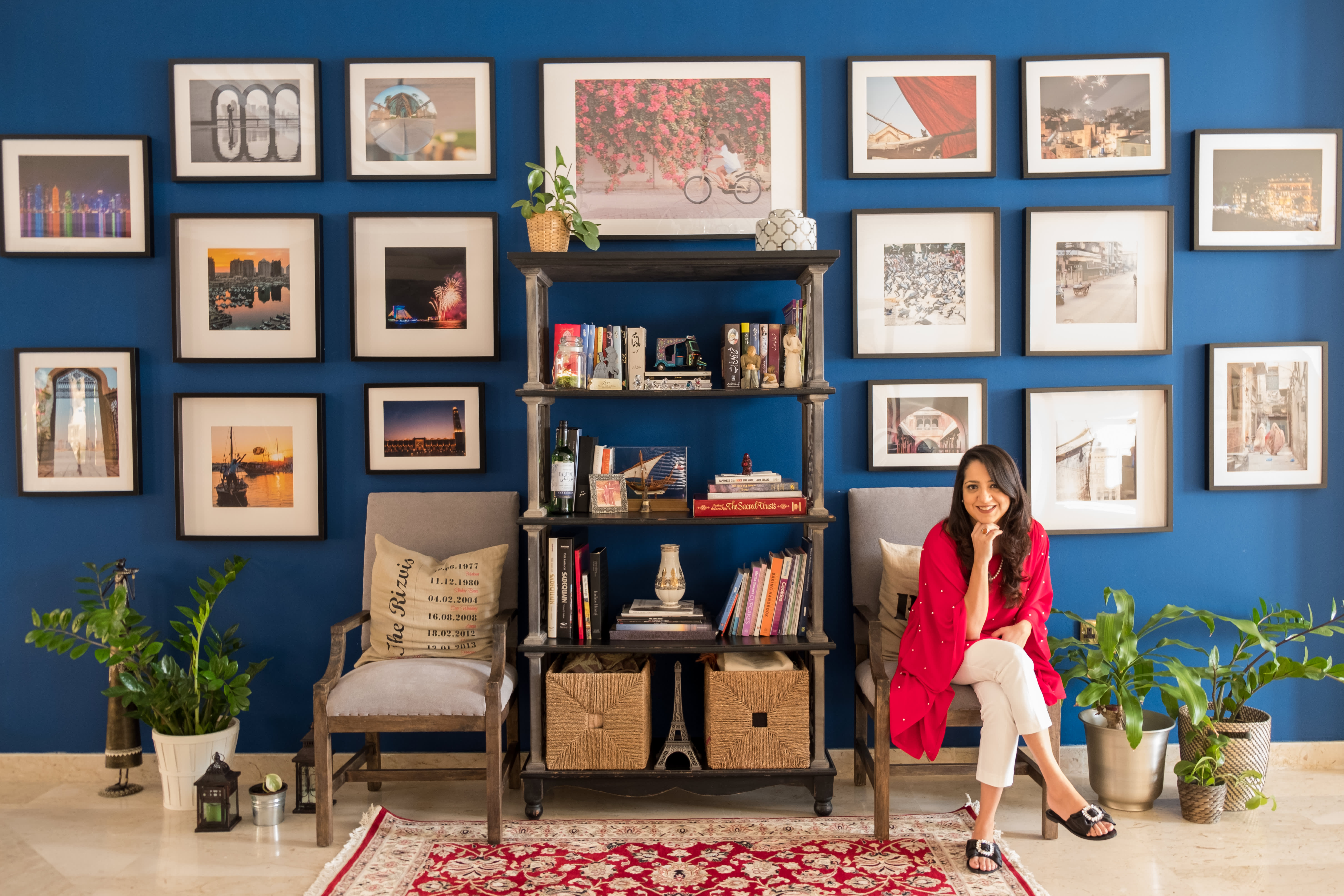 A Rental Home's Made Personal with Color and Culture