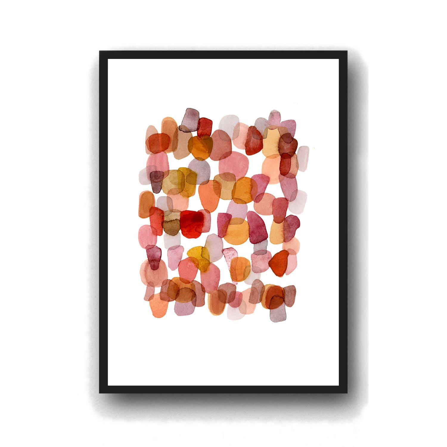 bccf52b3903 (Image credit  Etsy Louise Art Studio). An abstract watercolor print in  gradient ...