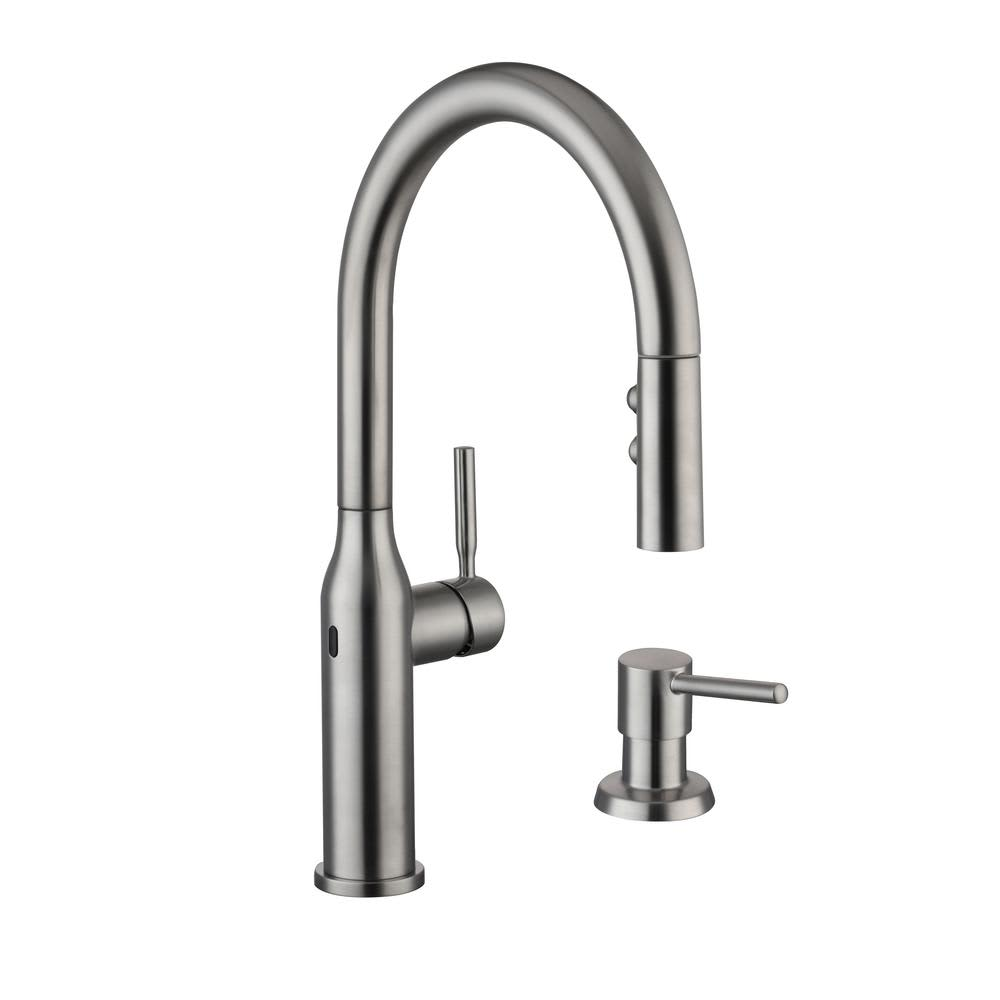 hi tech kitchen faucet hi tech touchless kitchen faucets are a growing trend apartment therapy 3271