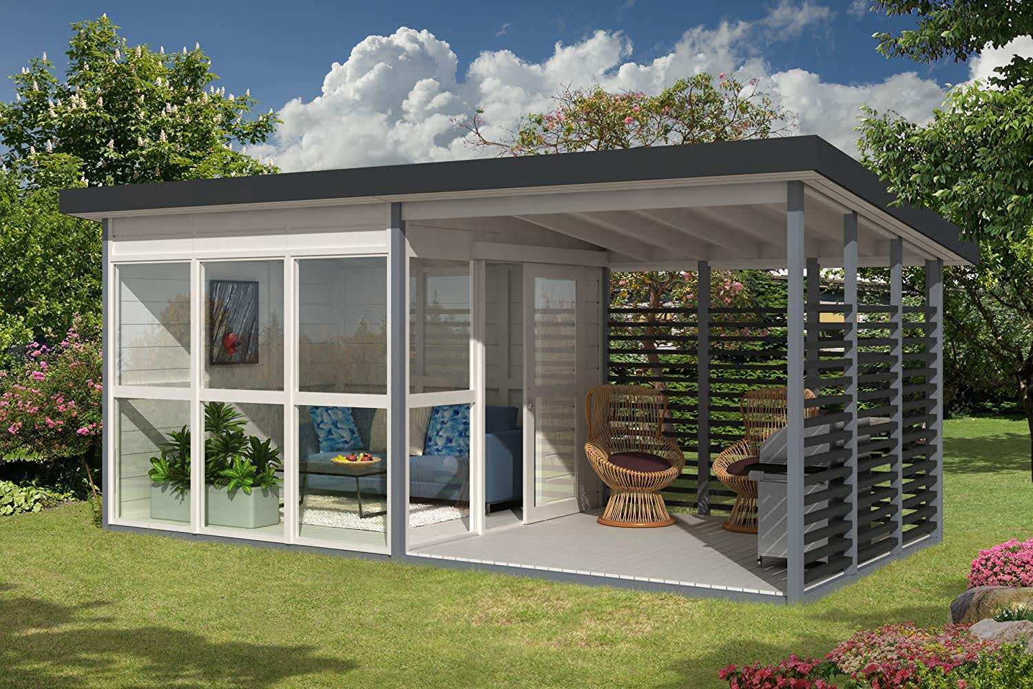 8 Prefab Tiny Houses You Can Order Right Off Amazon