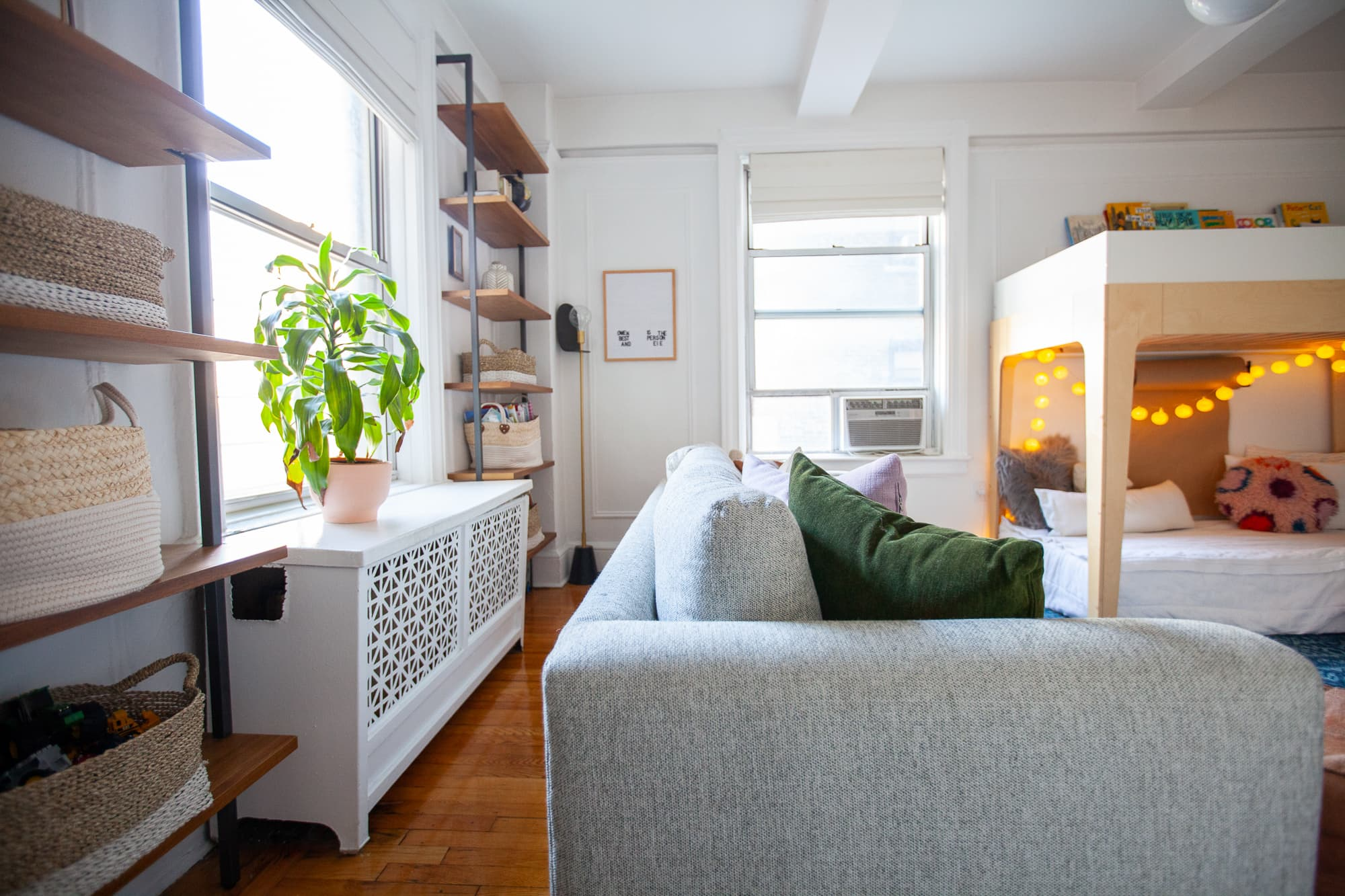 A Family Of Four Is Living In A Stylish, Extremely Organized 700 Square Feet :