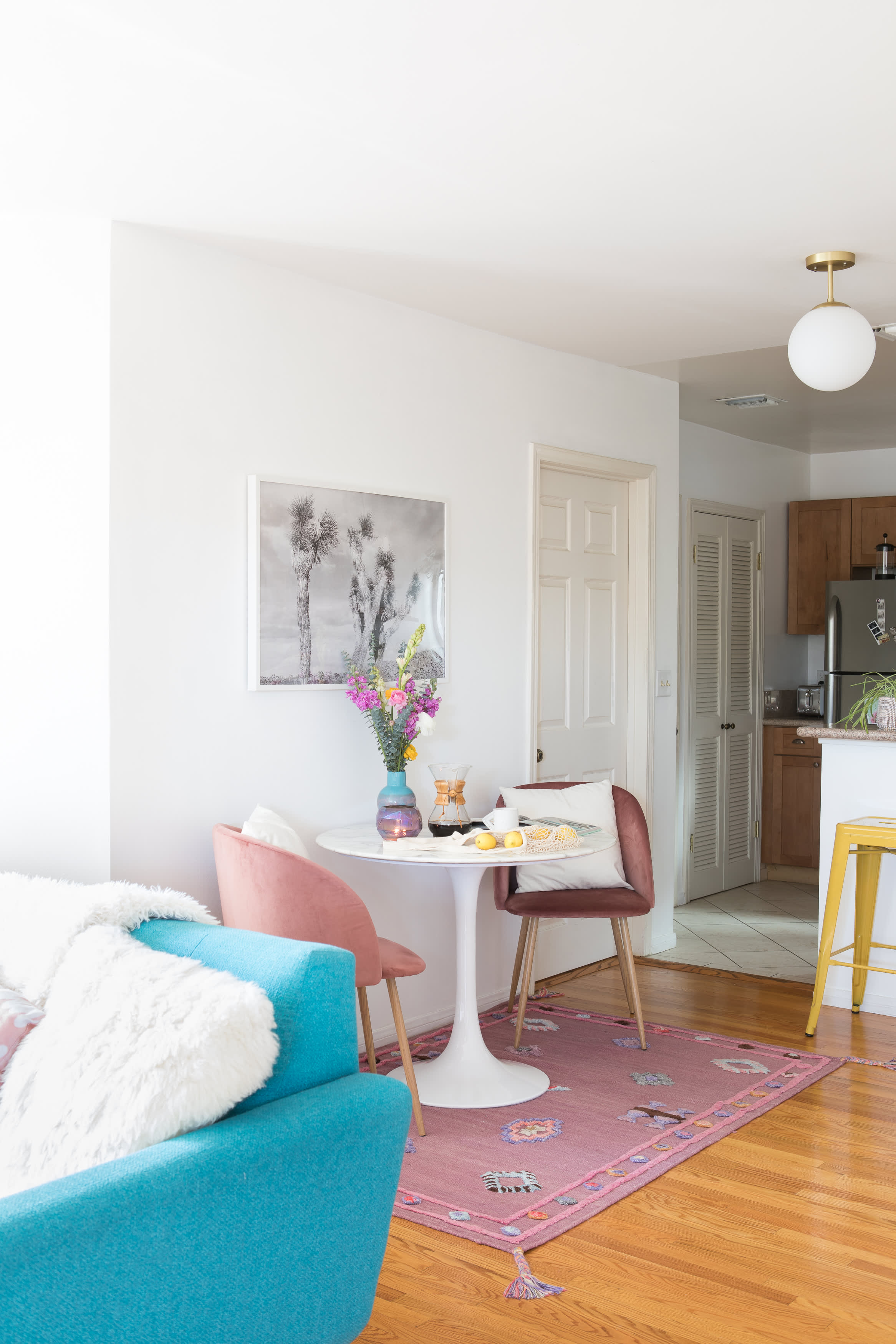 10 Small Living Rooms That Make Space For A Dining Table