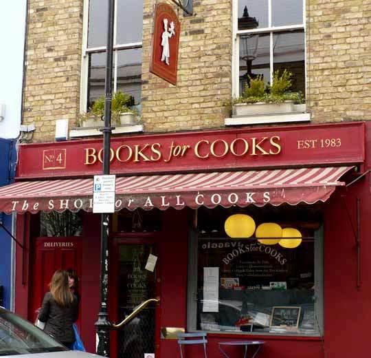 A Tour of London's Bookshop Café Books for Cooks: gallery image 1