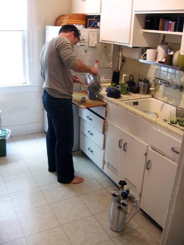 Kitchen Tour: Eric Gower's Breakaway Kitchen with Annex: gallery image 7