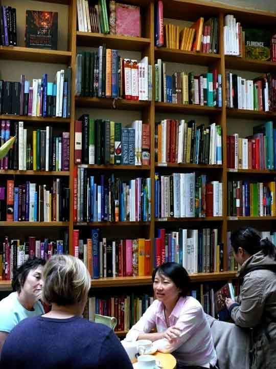 A Tour of London's Bookshop Café Books for Cooks: gallery image 5