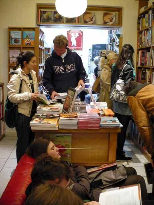 A Tour of London's Bookshop Café Books for Cooks: gallery image 9
