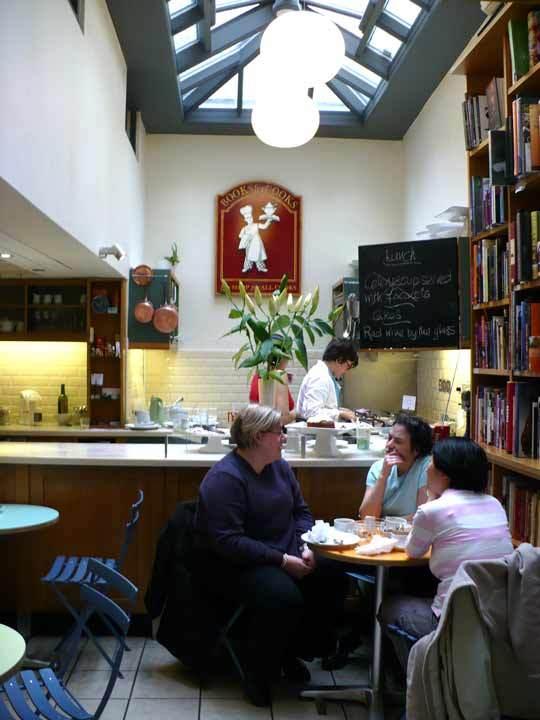 A Tour of London's Bookshop Café Books for Cooks: gallery image 6