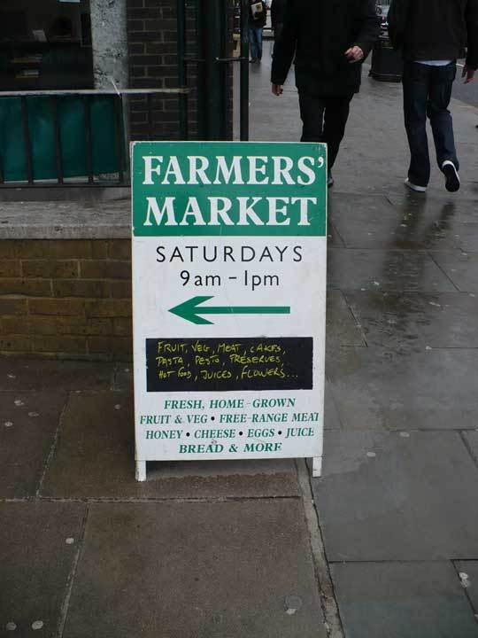 A Tour of the Notting Hill Farmers Market: gallery image 1